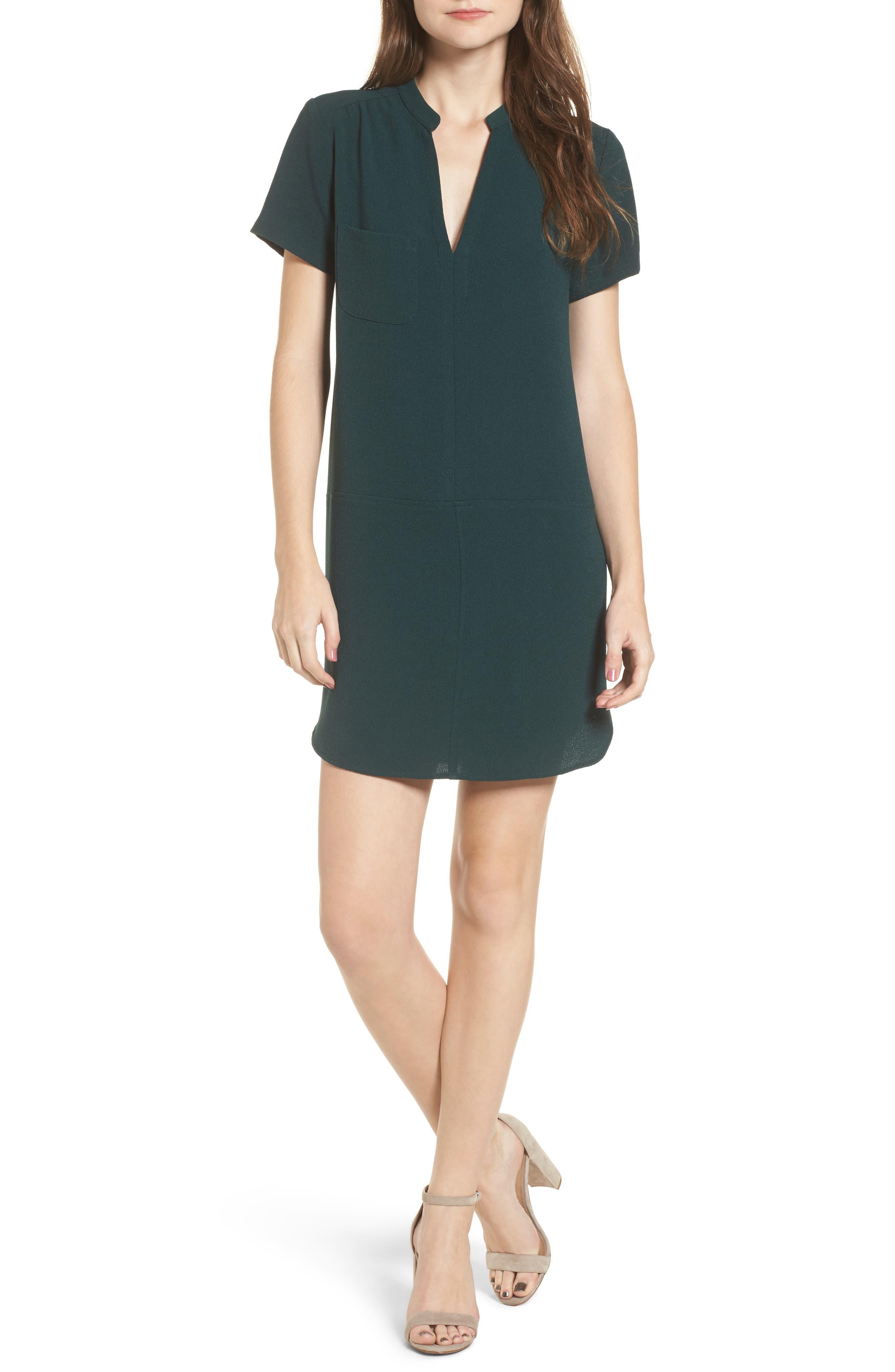 Hailey Crepe Dress,                             Main thumbnail 7, color,