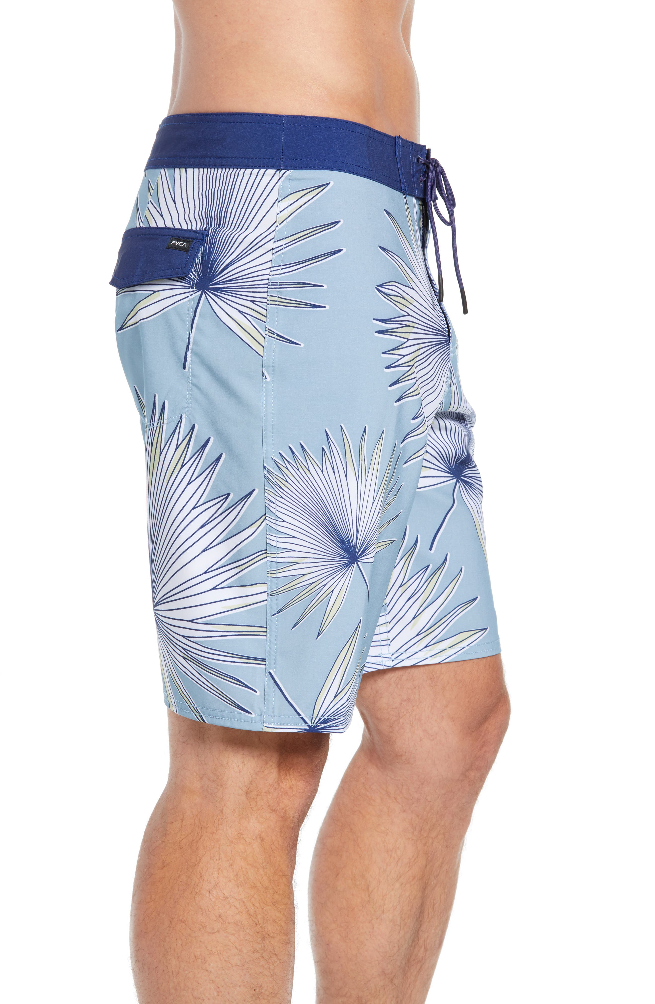 Varca Board Shorts,                             Alternate thumbnail 3, color,                             DUSTY BLUE