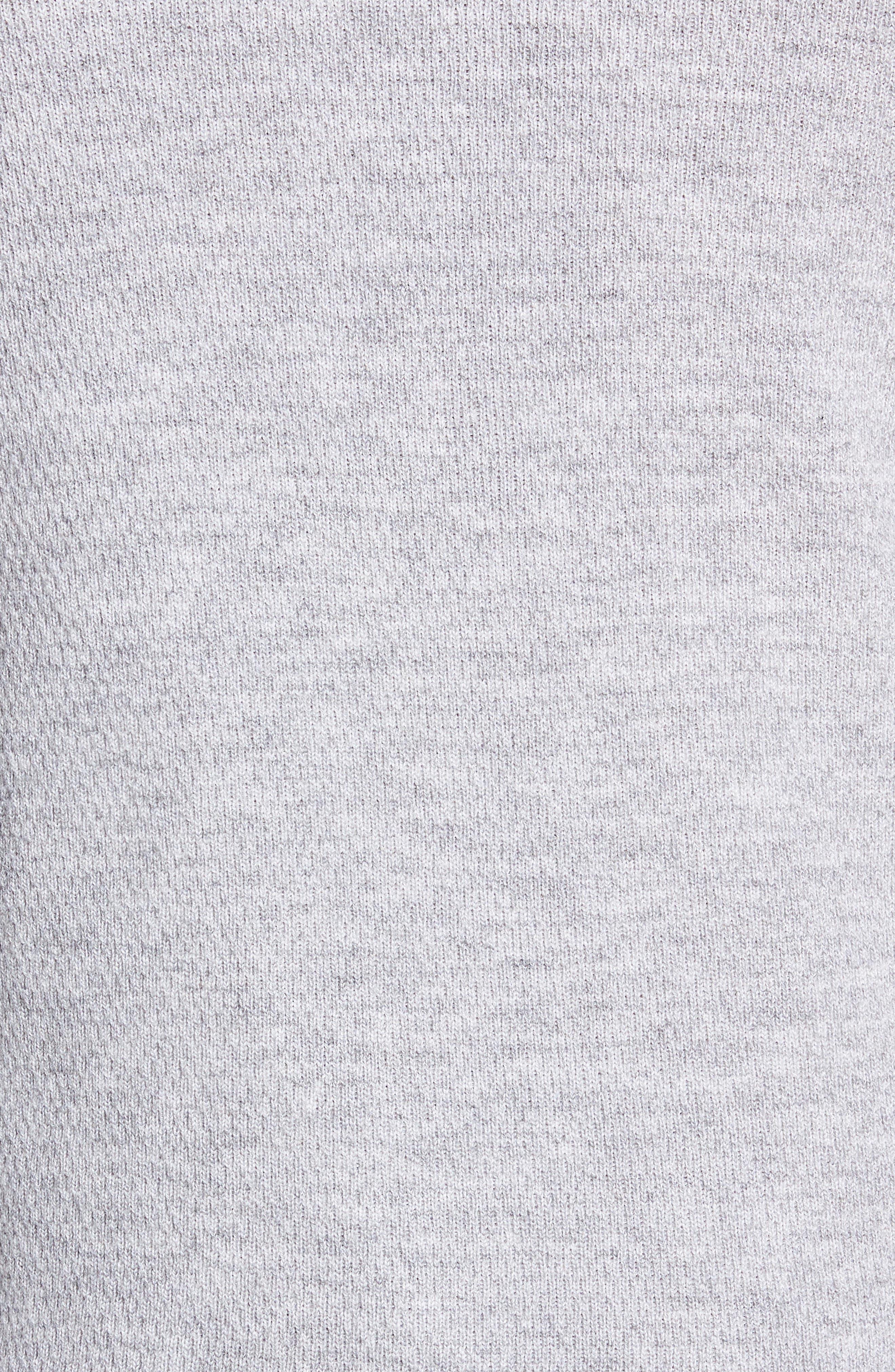 Gregory Merino Wool Blend Crewneck Sweater,                             Alternate thumbnail 5, color,                             GREY