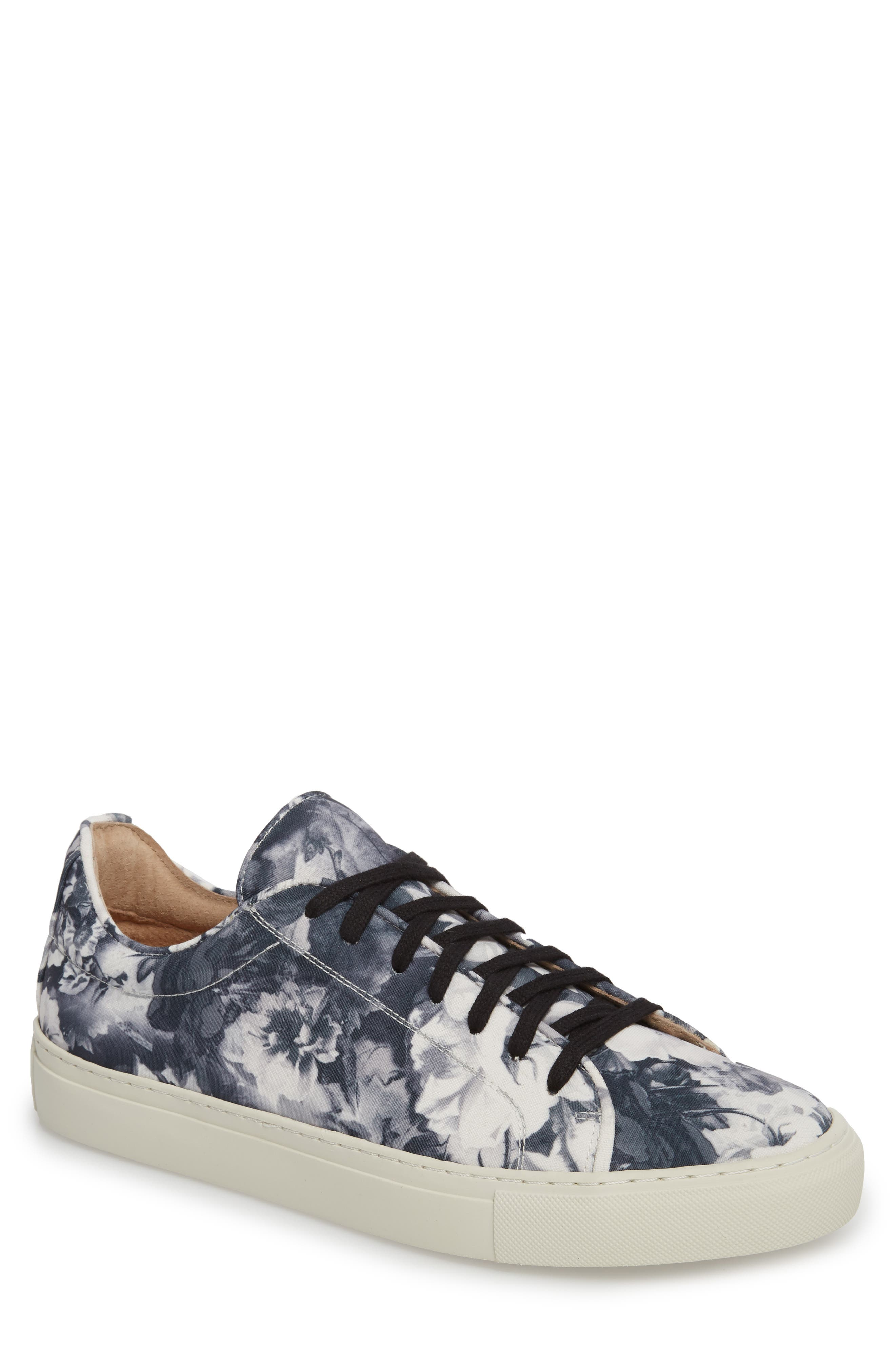 Mason Print Low Top Sneaker,                         Main,                         color, 005