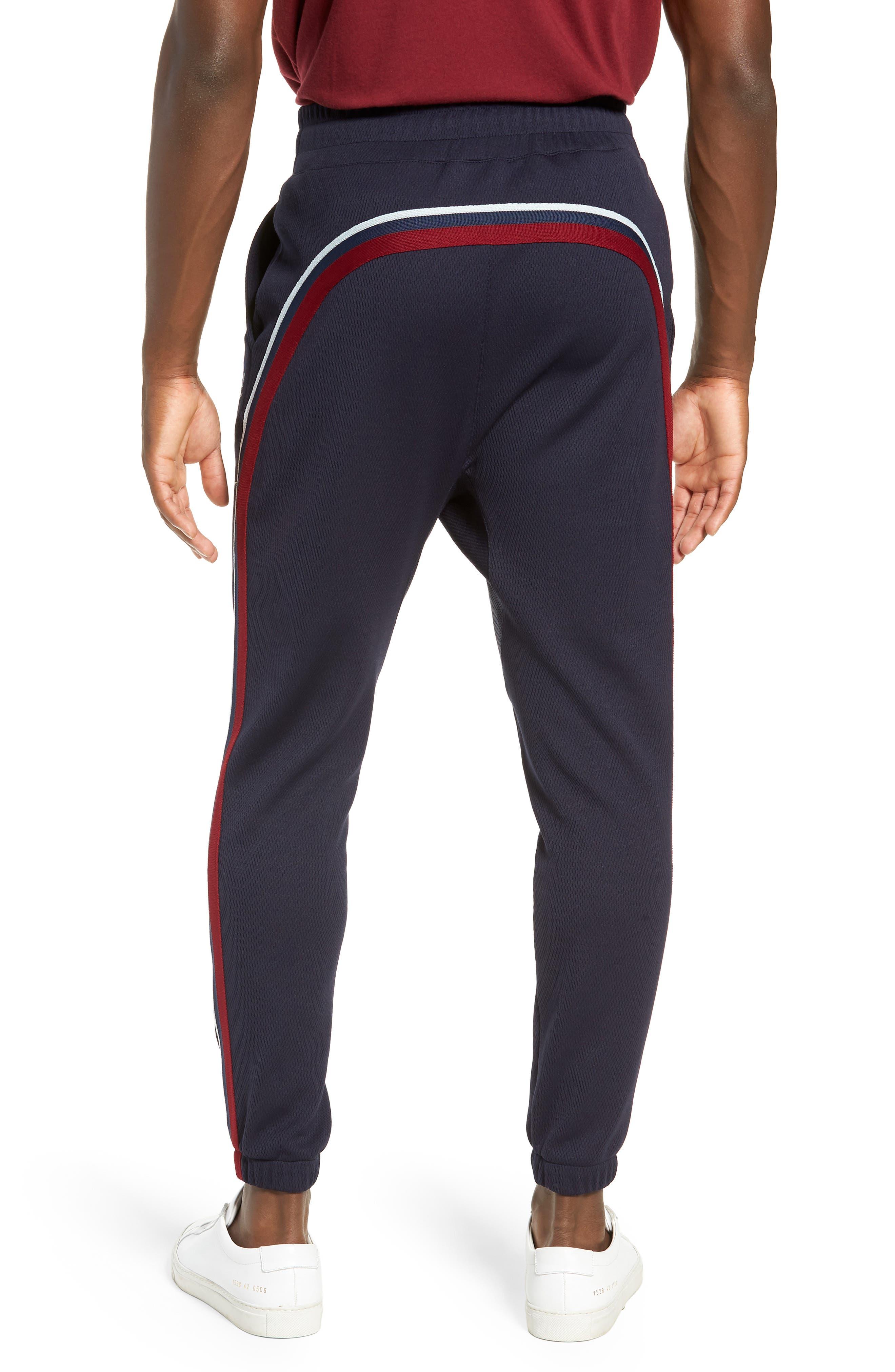 Slim Fit Track Pants,                             Alternate thumbnail 2, color,                             ADMIRAL
