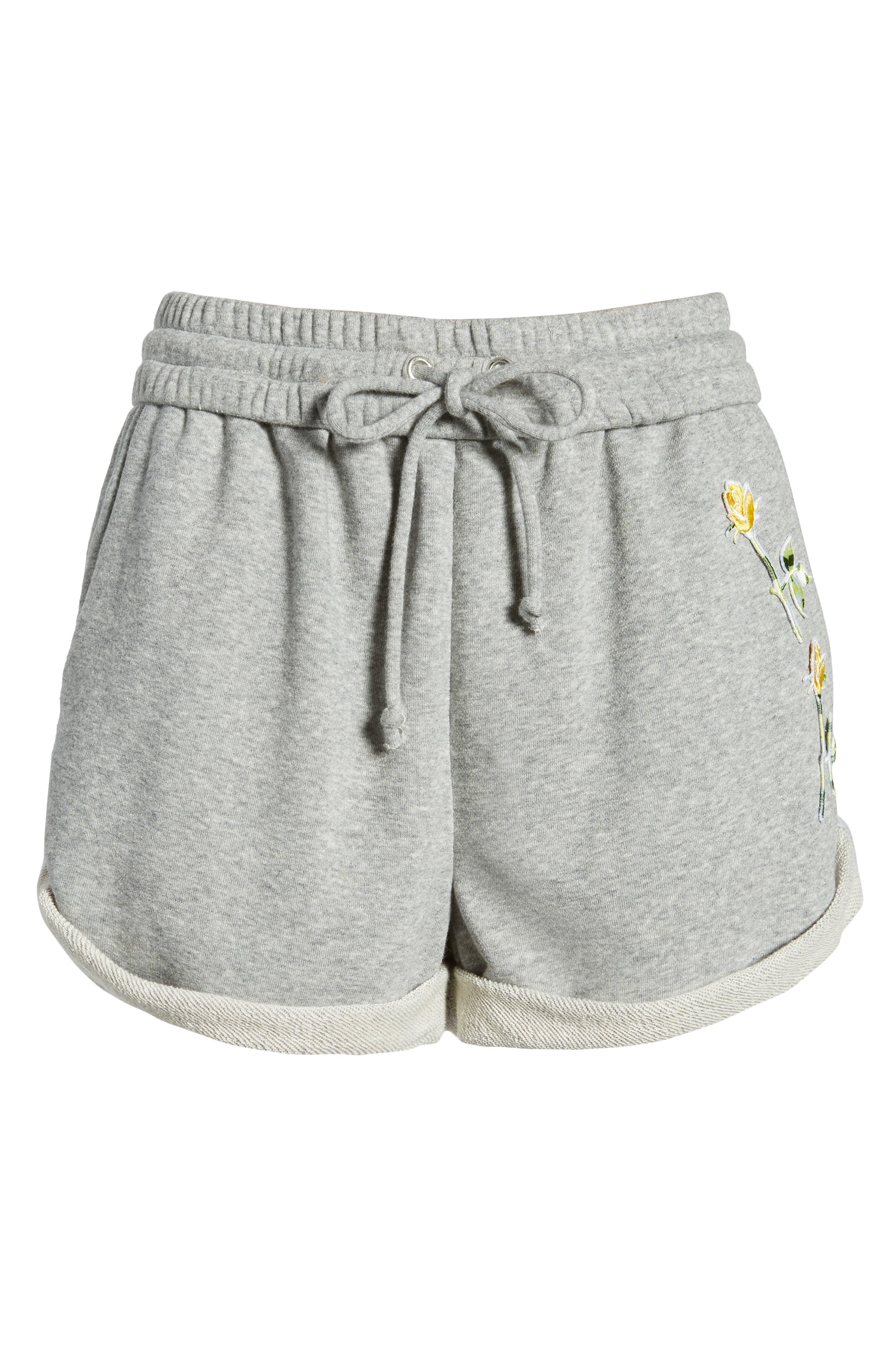 Rolled Drawstring Shorts,                             Alternate thumbnail 6, color,                             050