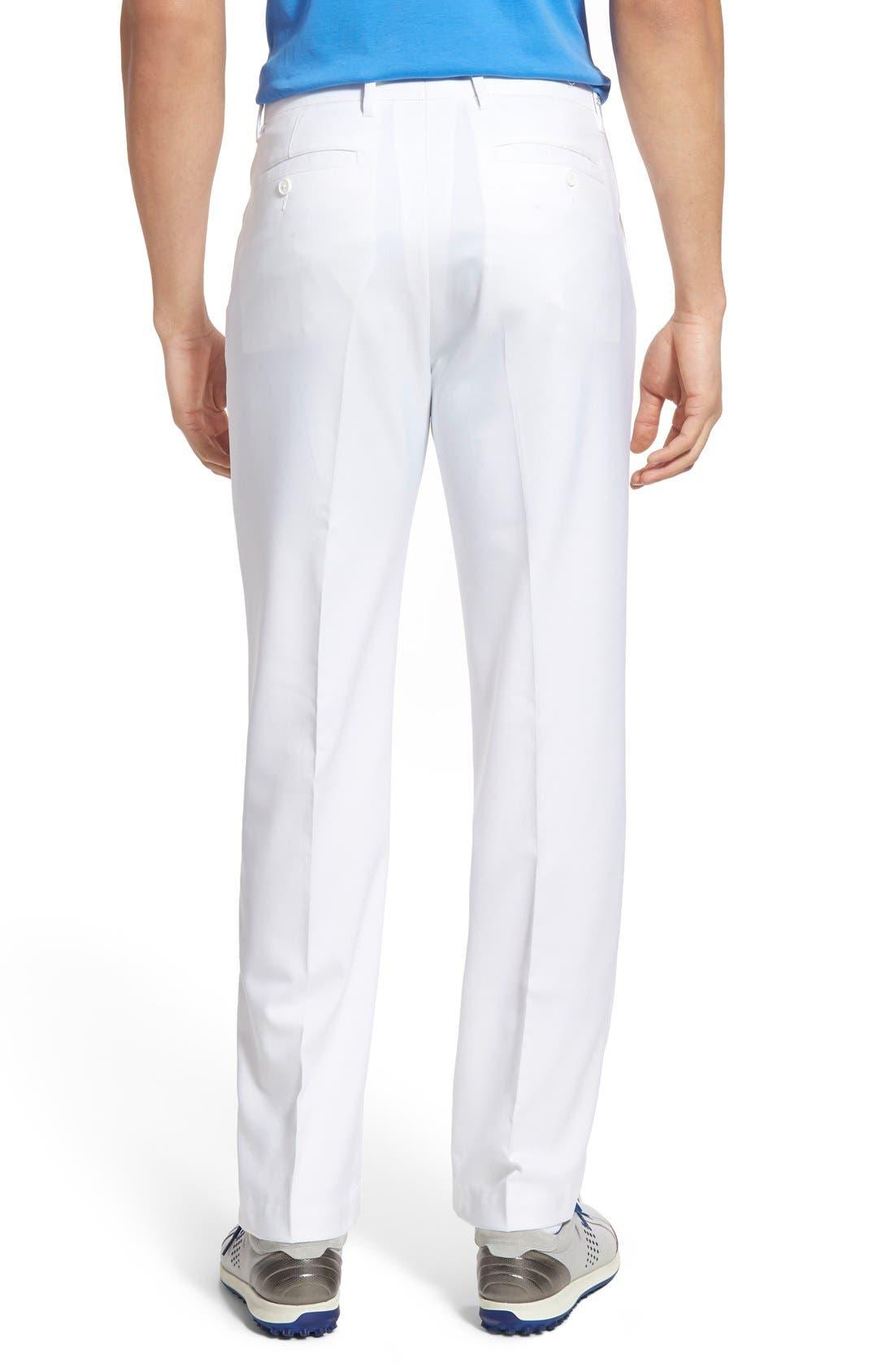 'Tech' Flat Front Wrinkle Free Golf Pants,                             Alternate thumbnail 19, color,