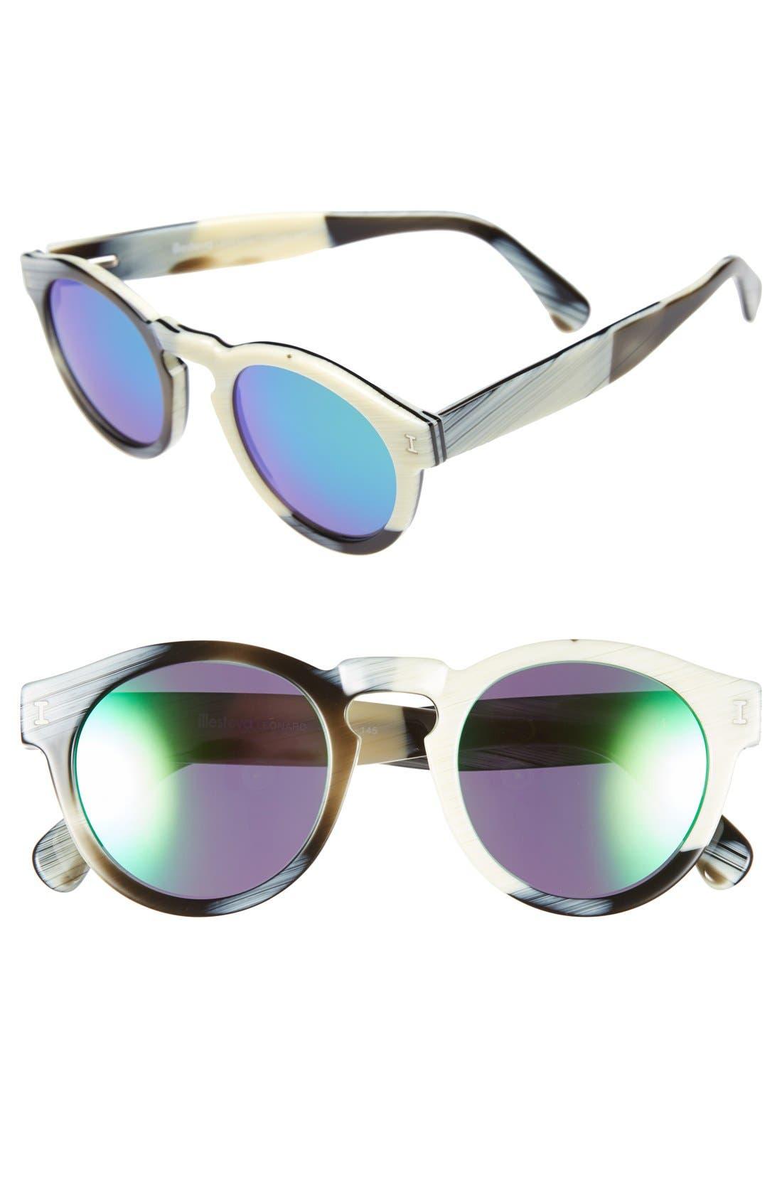 'Leonard' 47mm Sunglasses,                             Main thumbnail 63, color,