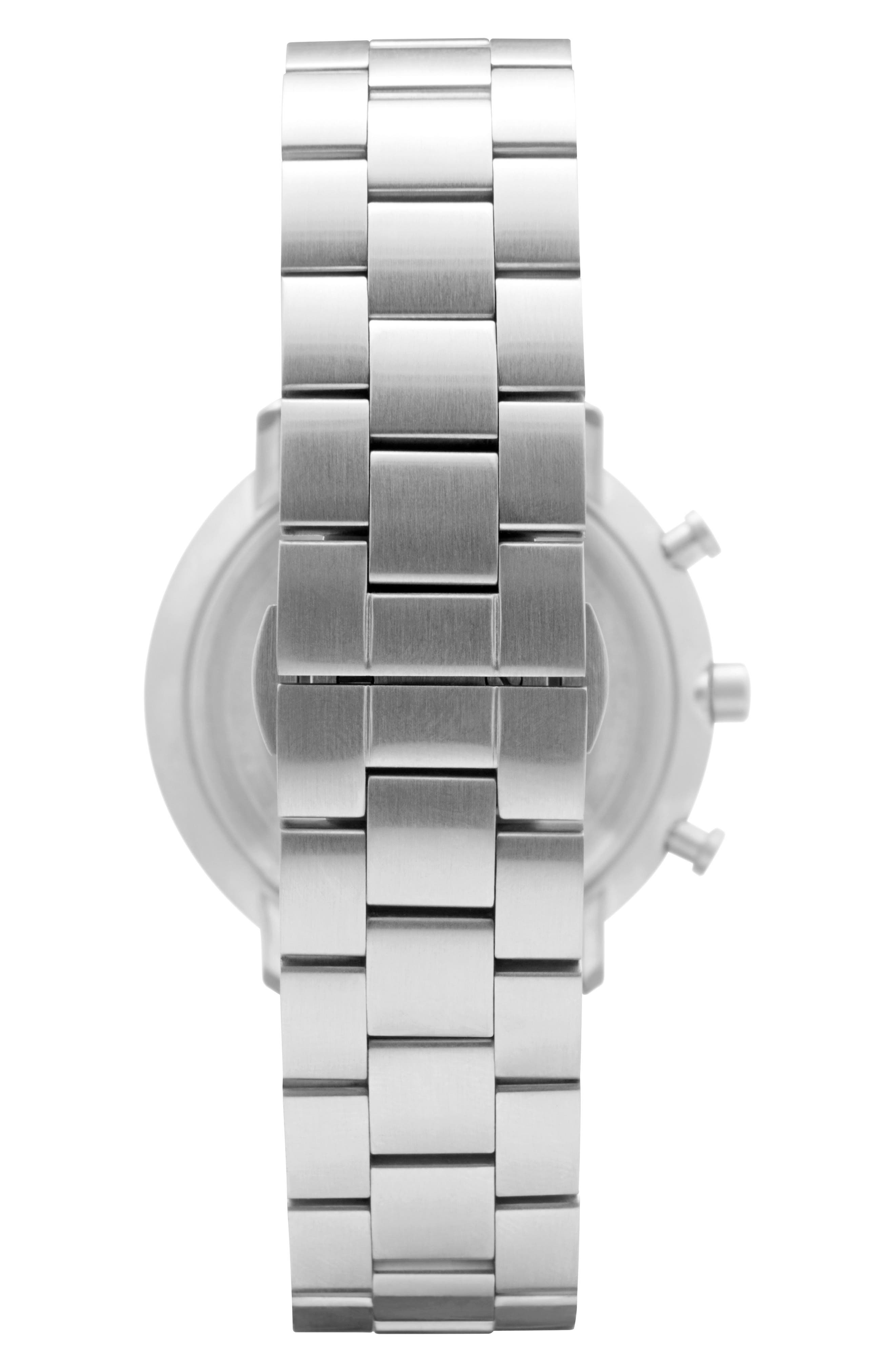 Leonard & Church Bleeker Chronograph Bracelet Watch, 40mm,                             Alternate thumbnail 5, color,