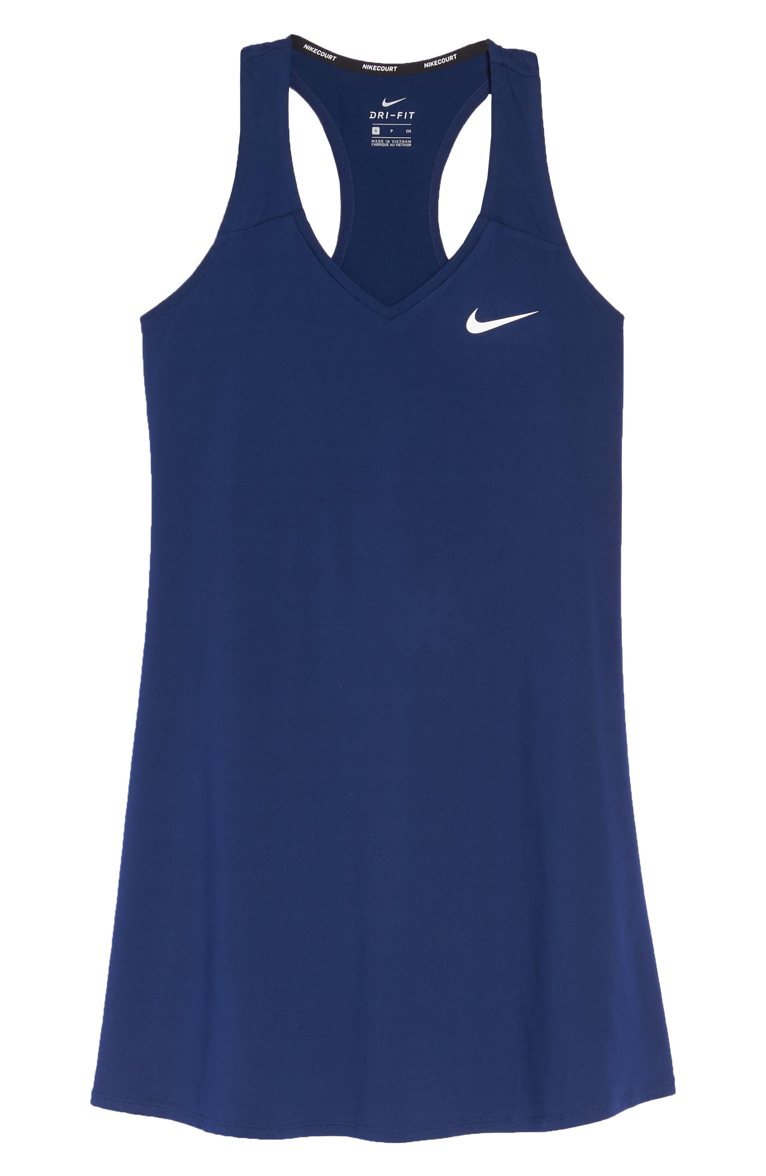 Dri-FIT Tennis Dress,                             Alternate thumbnail 7, color,                             492