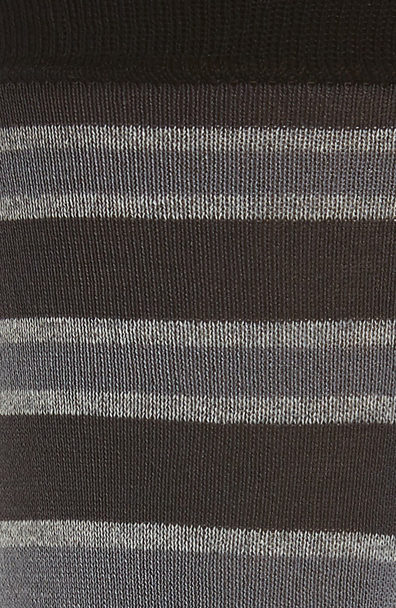 Stripe Mercerized Cotton Blend Socks,                             Alternate thumbnail 2, color,                             017