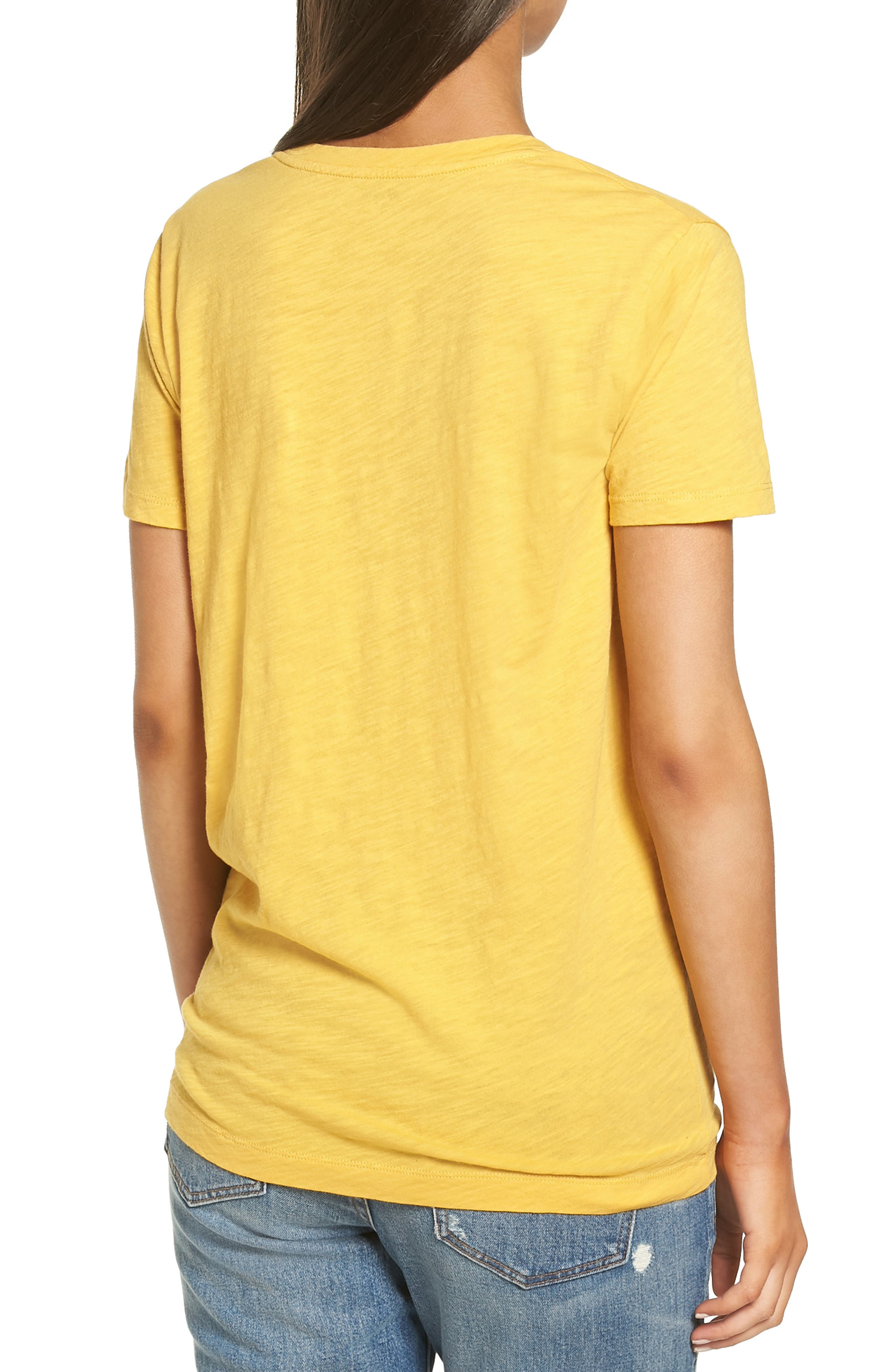 Whisper Cotton V-Neck Pocket Tee,                             Alternate thumbnail 81, color,