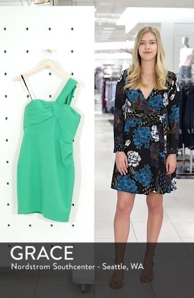 Laguna One-Shoulder Scuba Dress, sales video thumbnail