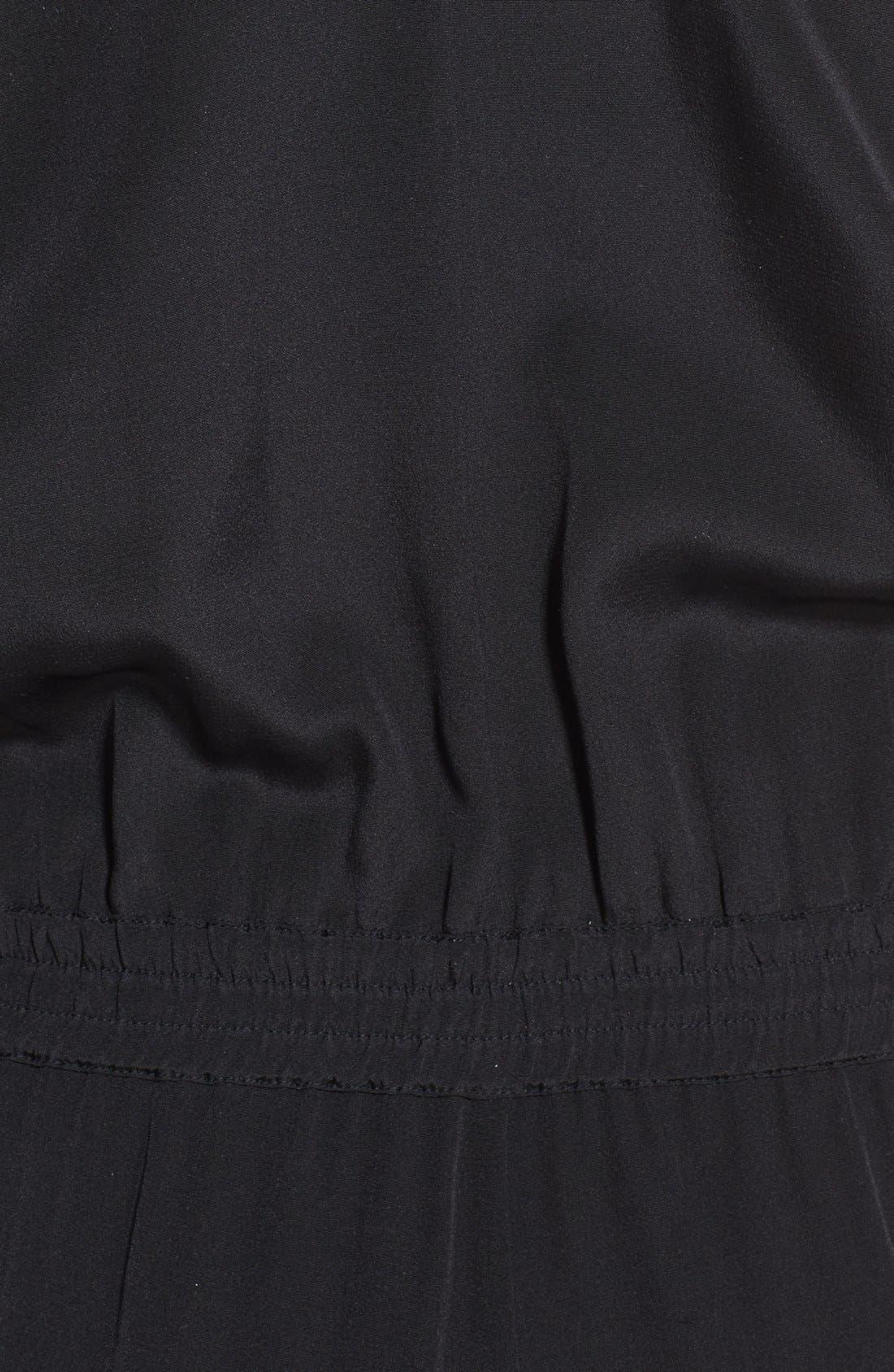 Sleeveless Silk Jumpsuit,                             Alternate thumbnail 4, color,                             011