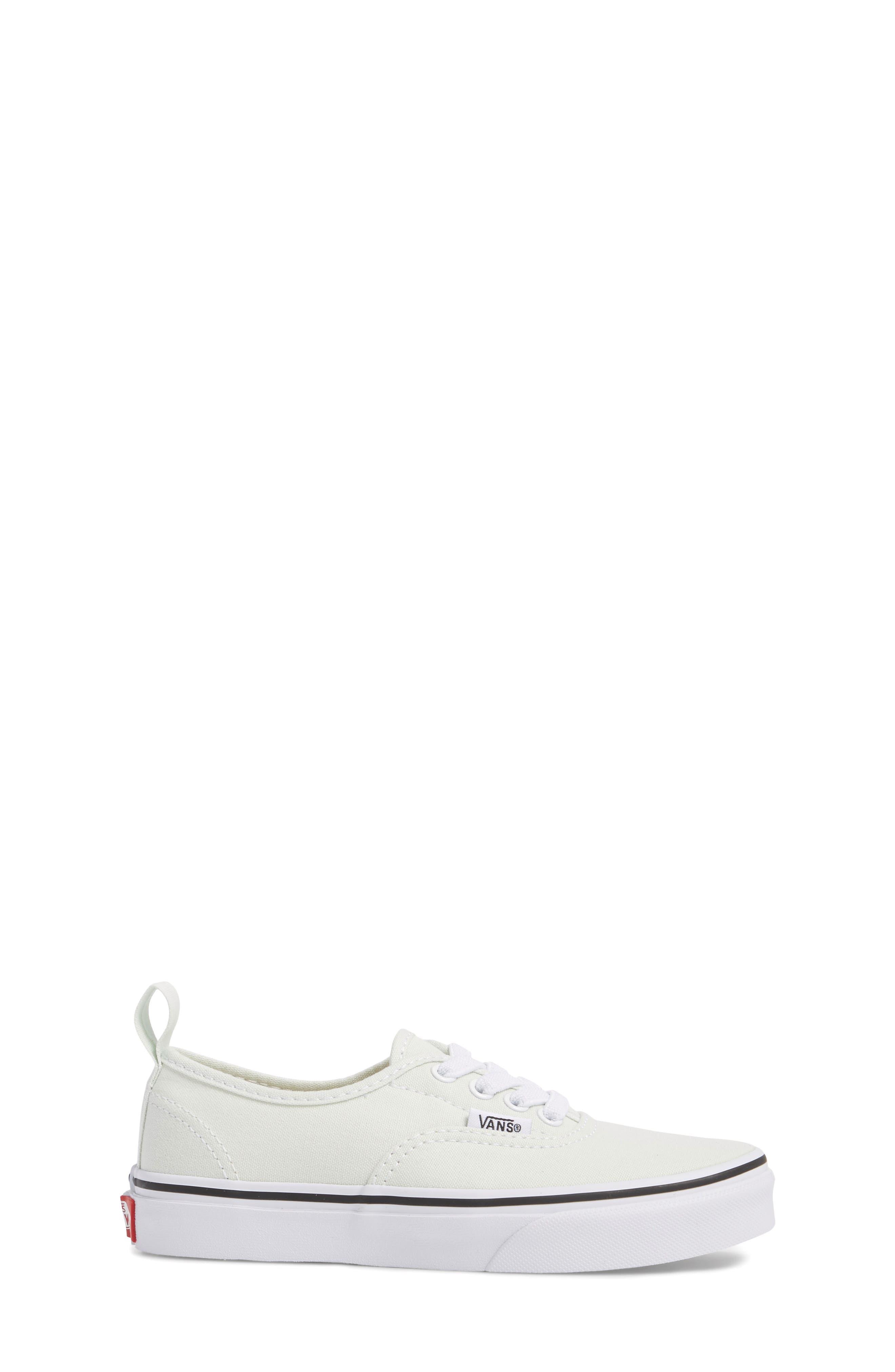 Authentic Elastic Lace Sneaker,                             Alternate thumbnail 3, color,                             420