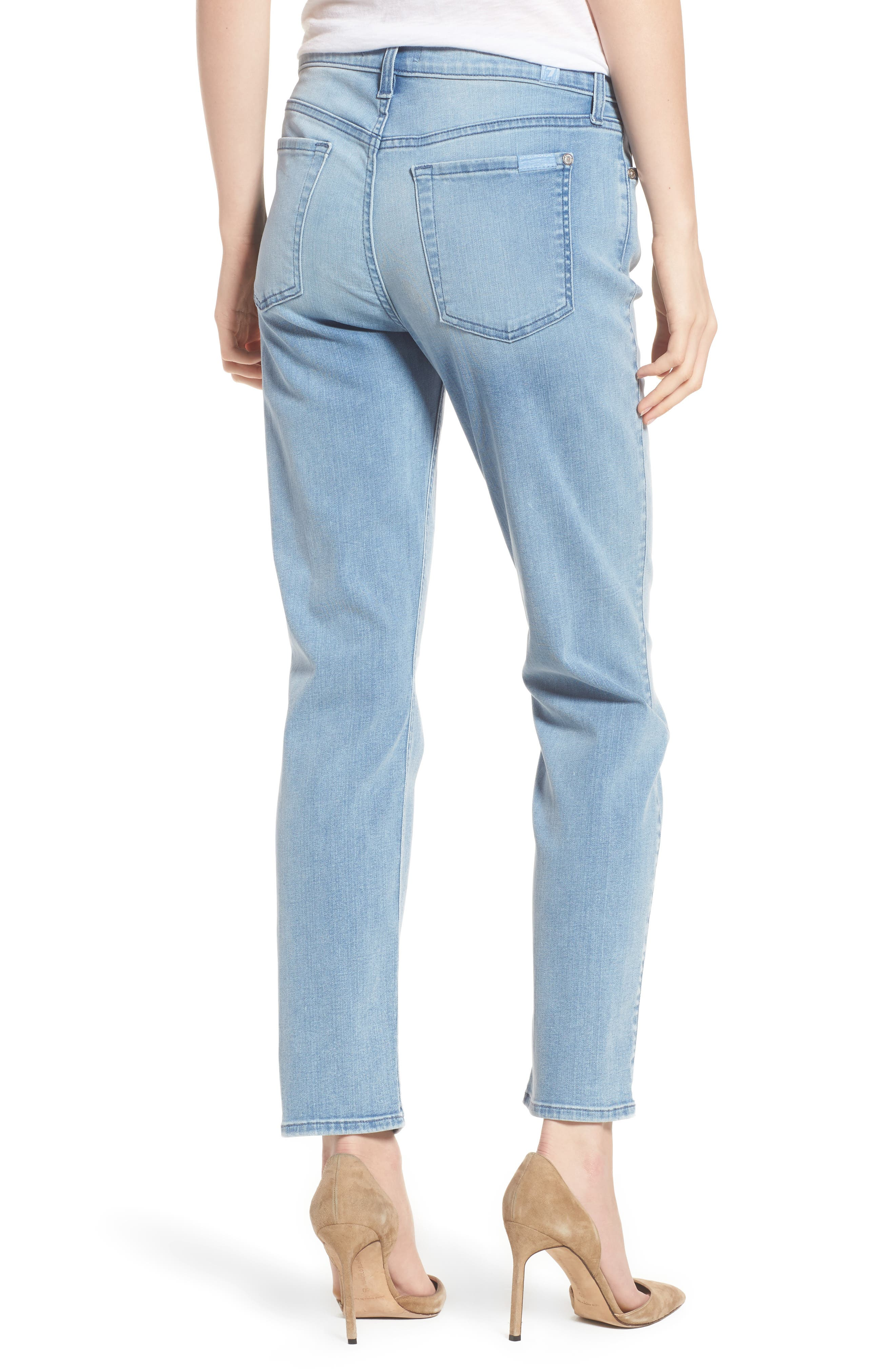 7 FOR ALL MANKIND<SUP>®</SUP>,                             b(air) Roxanne Ankle Skinny Jeans,                             Alternate thumbnail 2, color,                             401