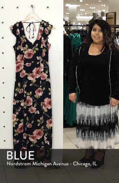 Flutter Sleeve Maxi Dress, sales video thumbnail