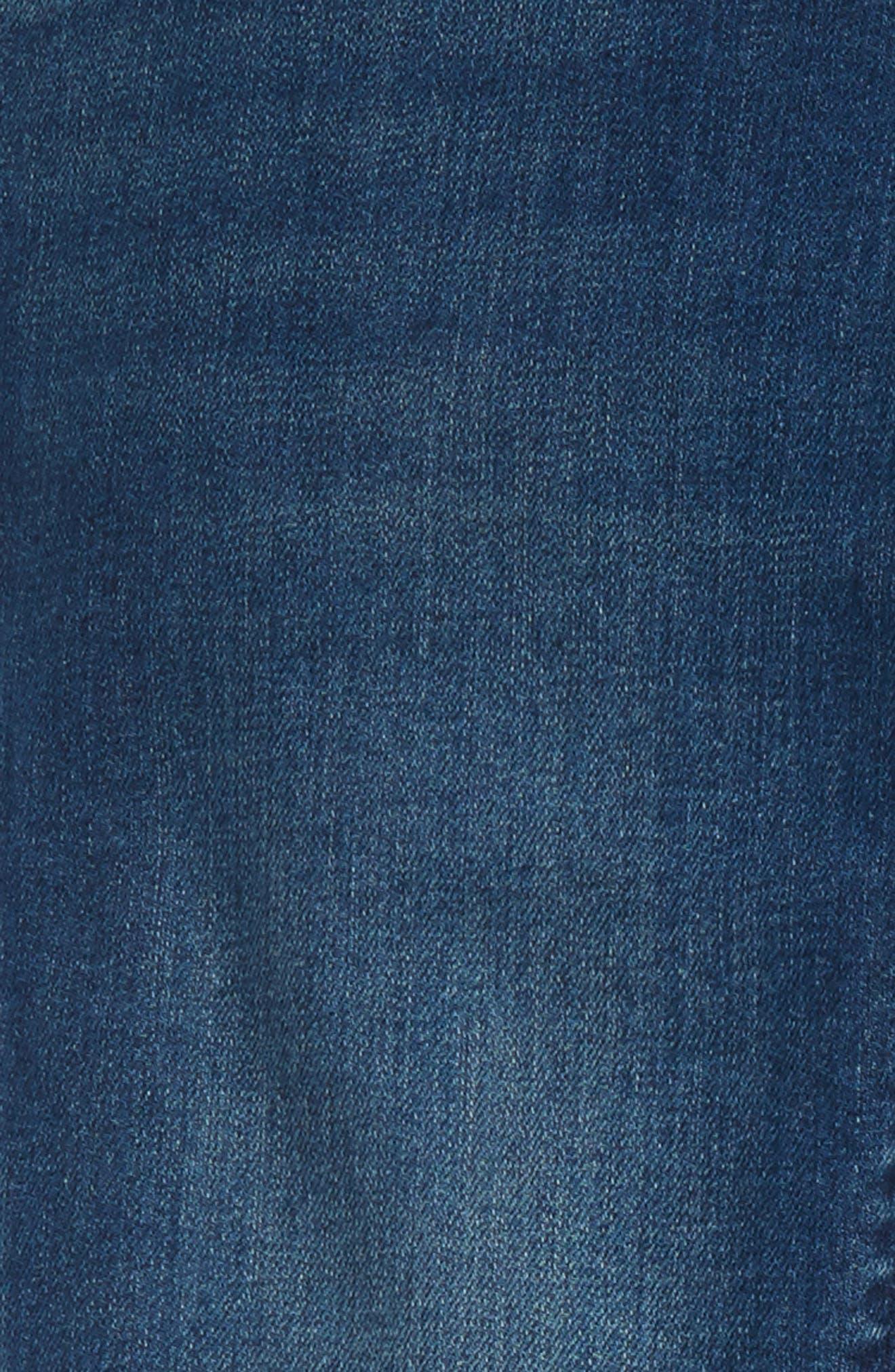 'Solver' Straight Leg Denim Jeans,                             Alternate thumbnail 14, color,