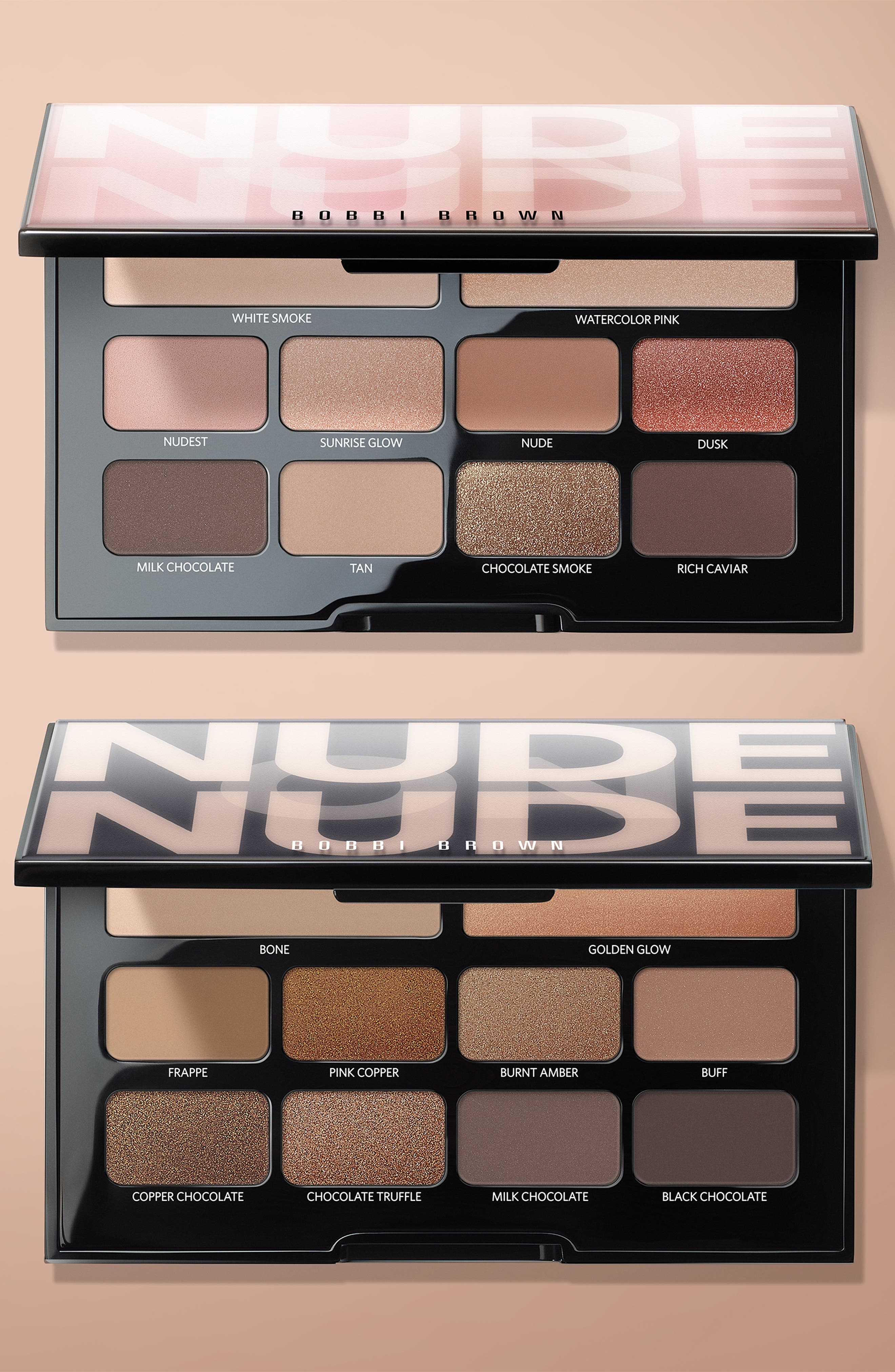 Nude on Nude Eyeshadow Palette,                             Alternate thumbnail 8, color,                             BRONZED NUDES