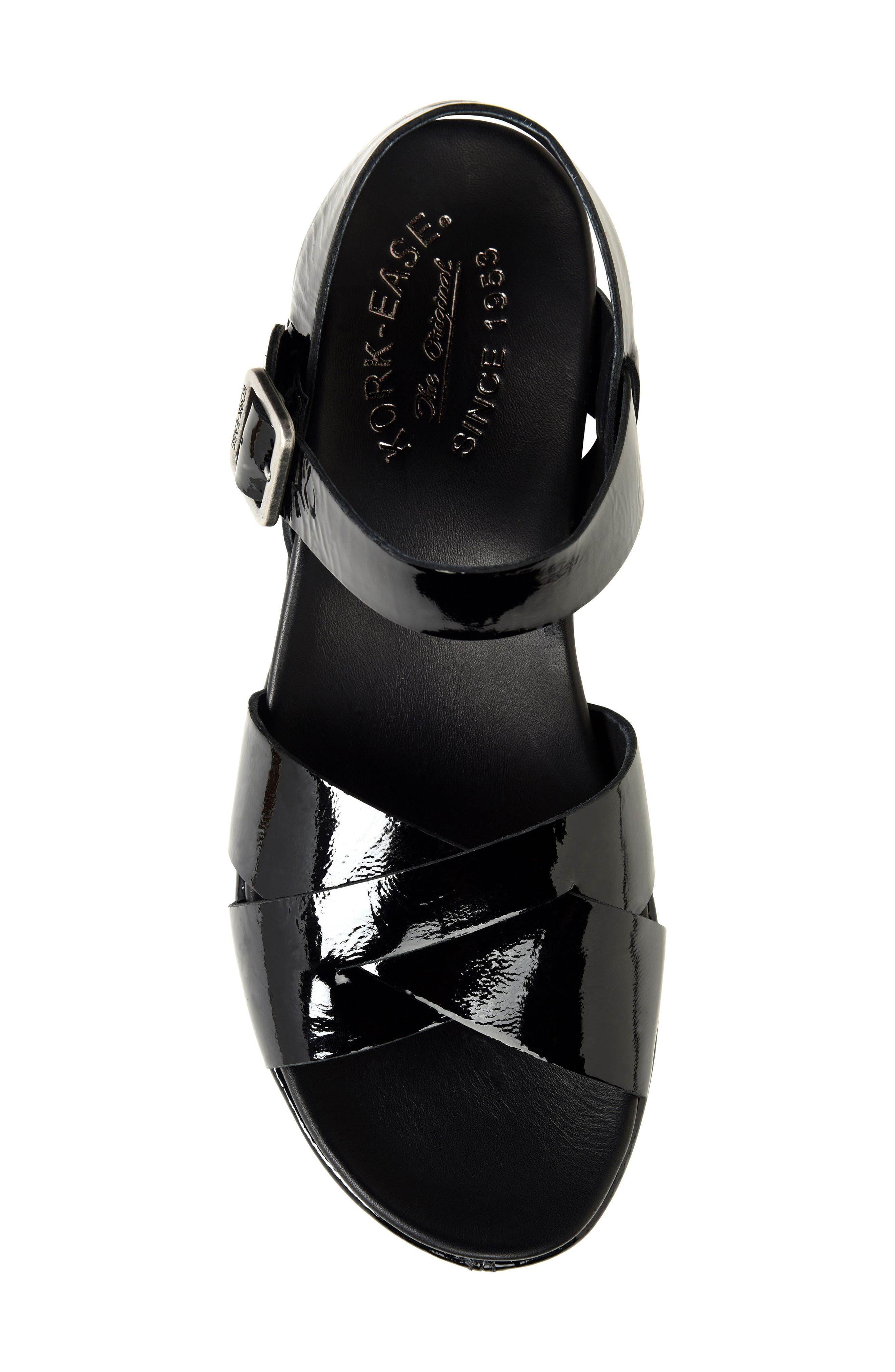 'Myrna 2.0' Cork Wedge Sandal,                             Alternate thumbnail 5, color,                             002