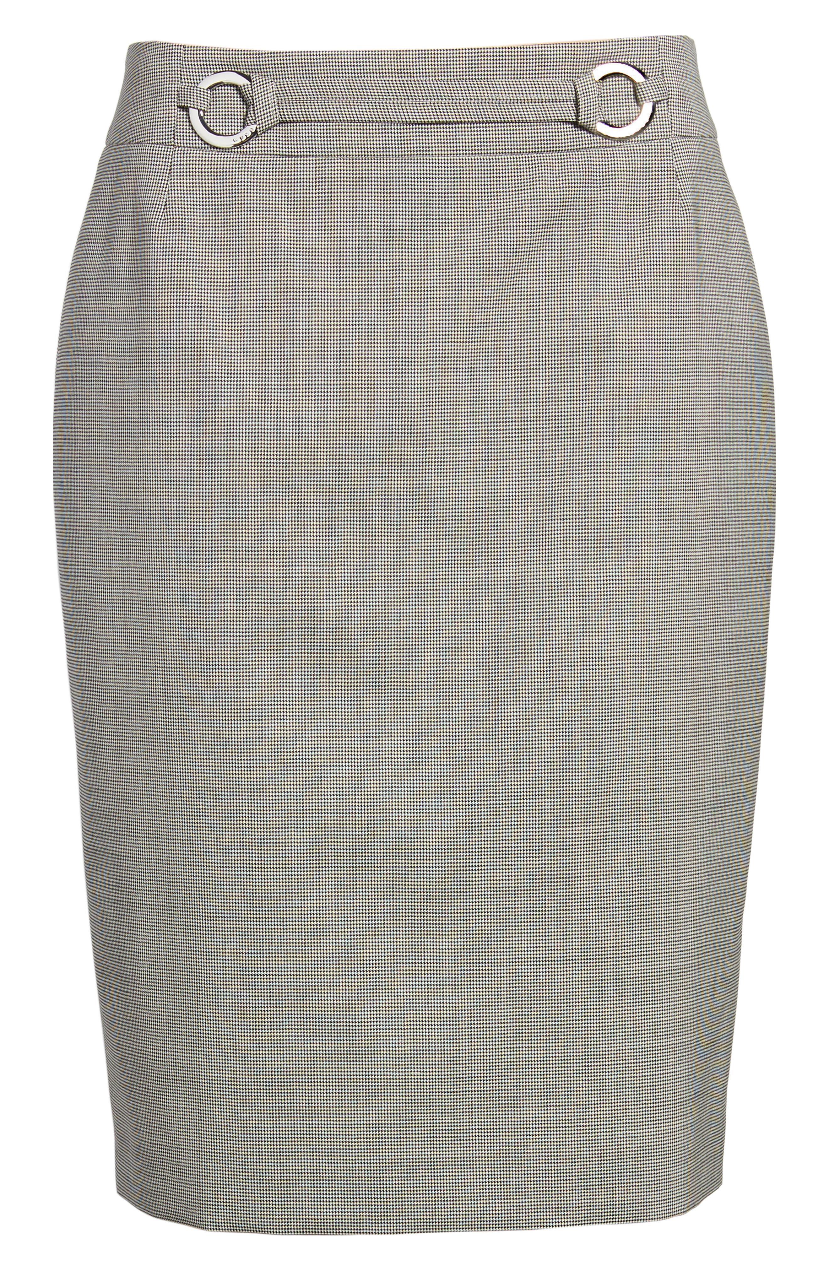 Vavilla Stretch Wool Suit Skirt,                             Alternate thumbnail 11, color,