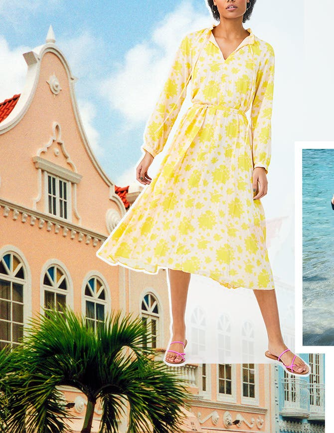Dresstination Aruba: vacation dresses.