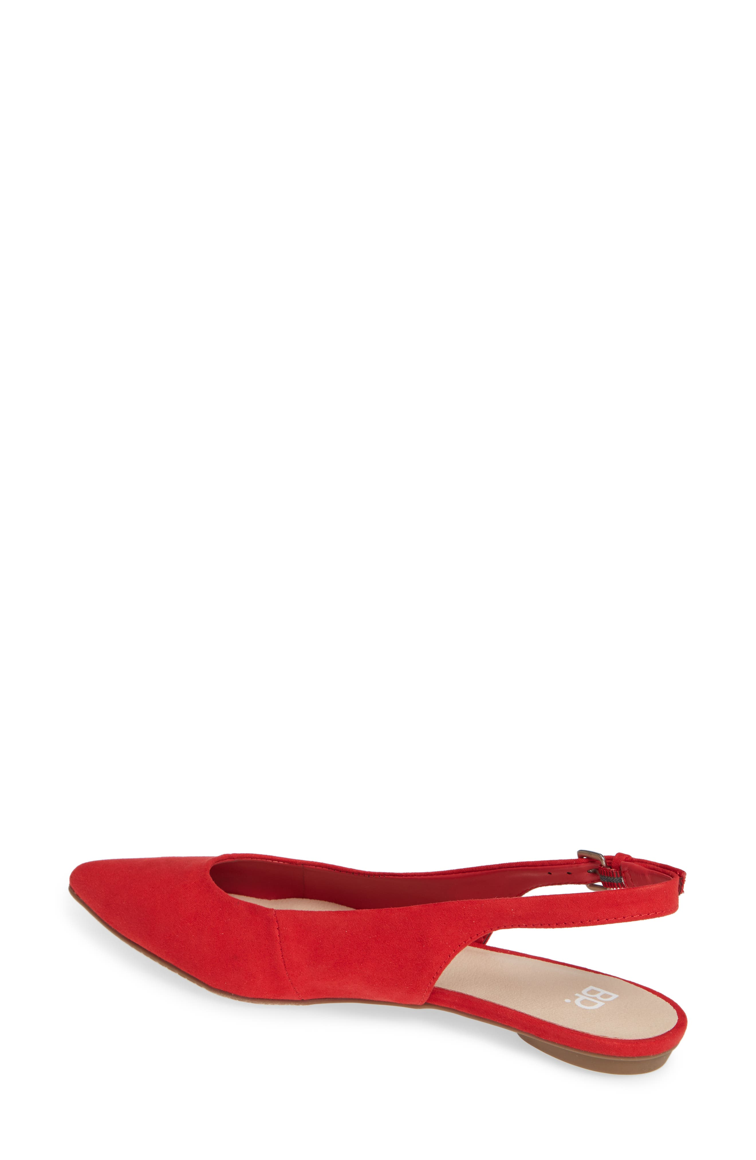 Sandra Slingback Flat,                             Alternate thumbnail 2, color,                             600