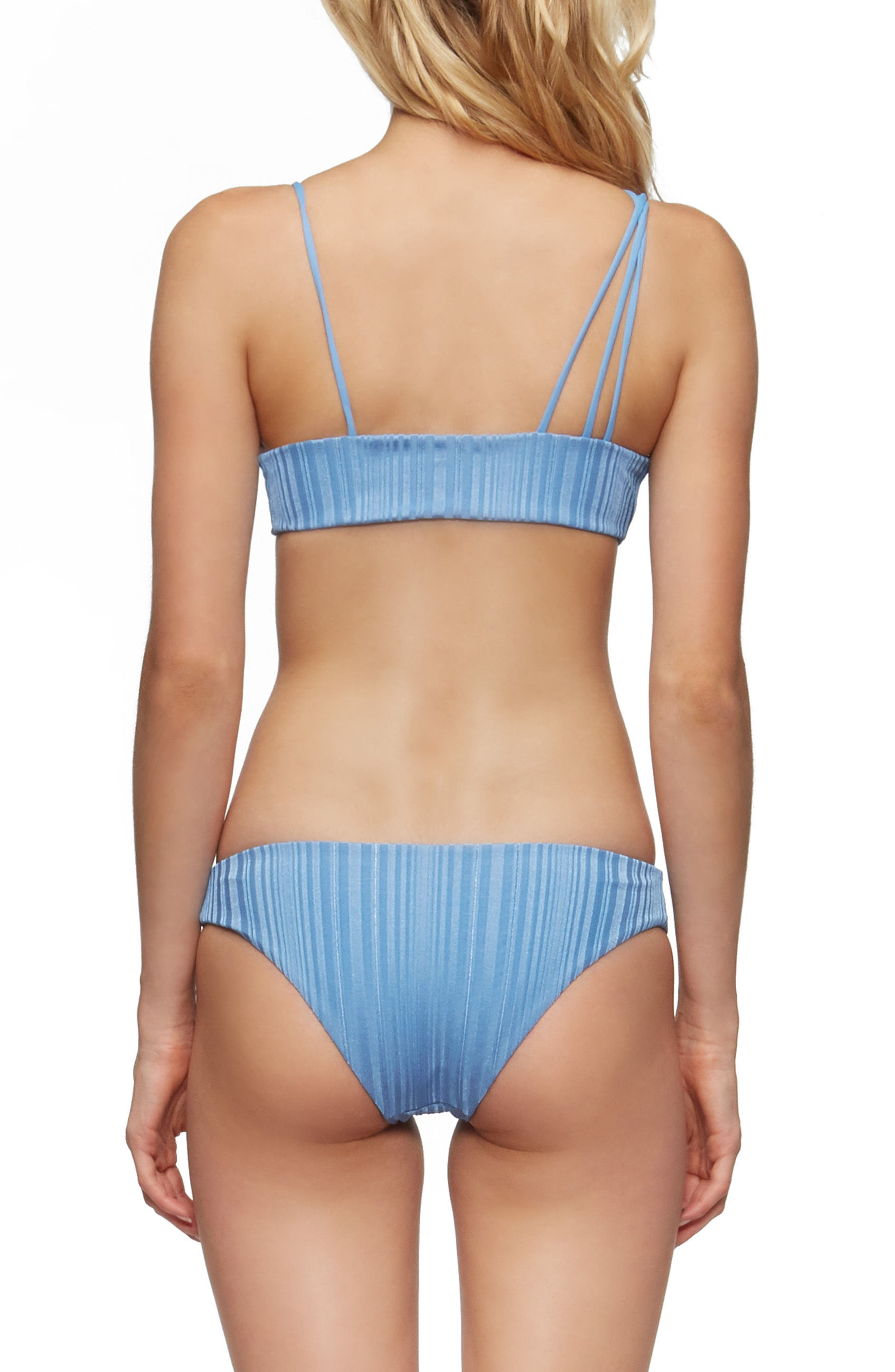 Leni Bikini Top,                             Alternate thumbnail 6, color,                             SEA BLUE