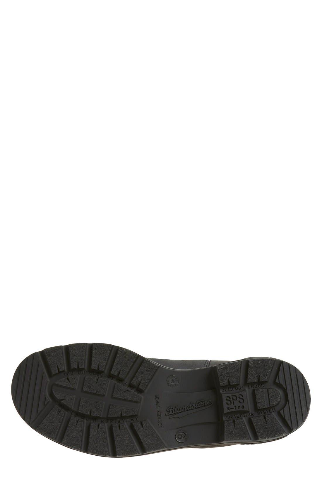 Footwear Chelsea Boot,                             Alternate thumbnail 4, color,                             RUSTIC BLACK