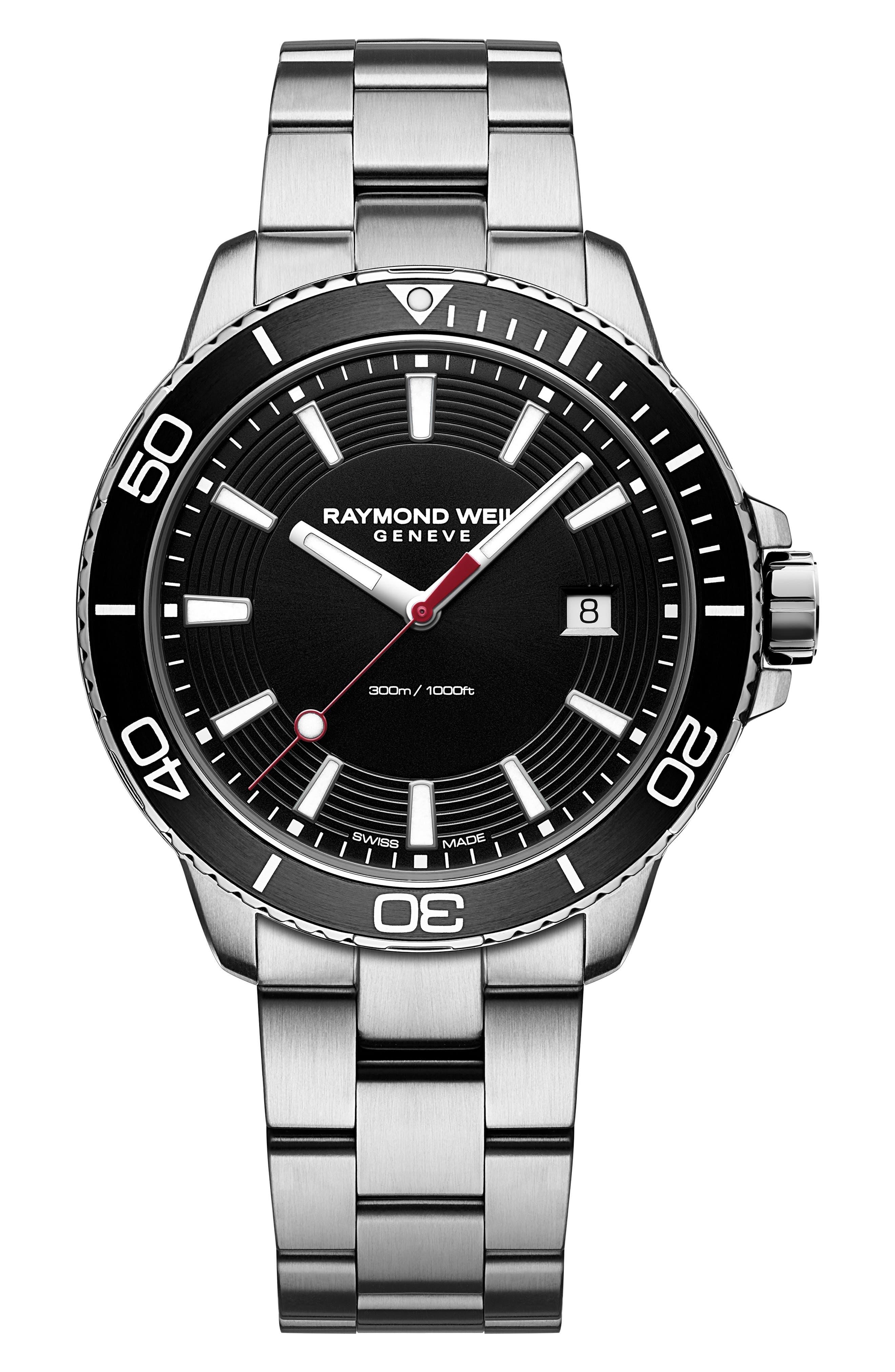 Tango Diving Chronograph Bracelet Watch, 42mm,                             Main thumbnail 1, color,                             040