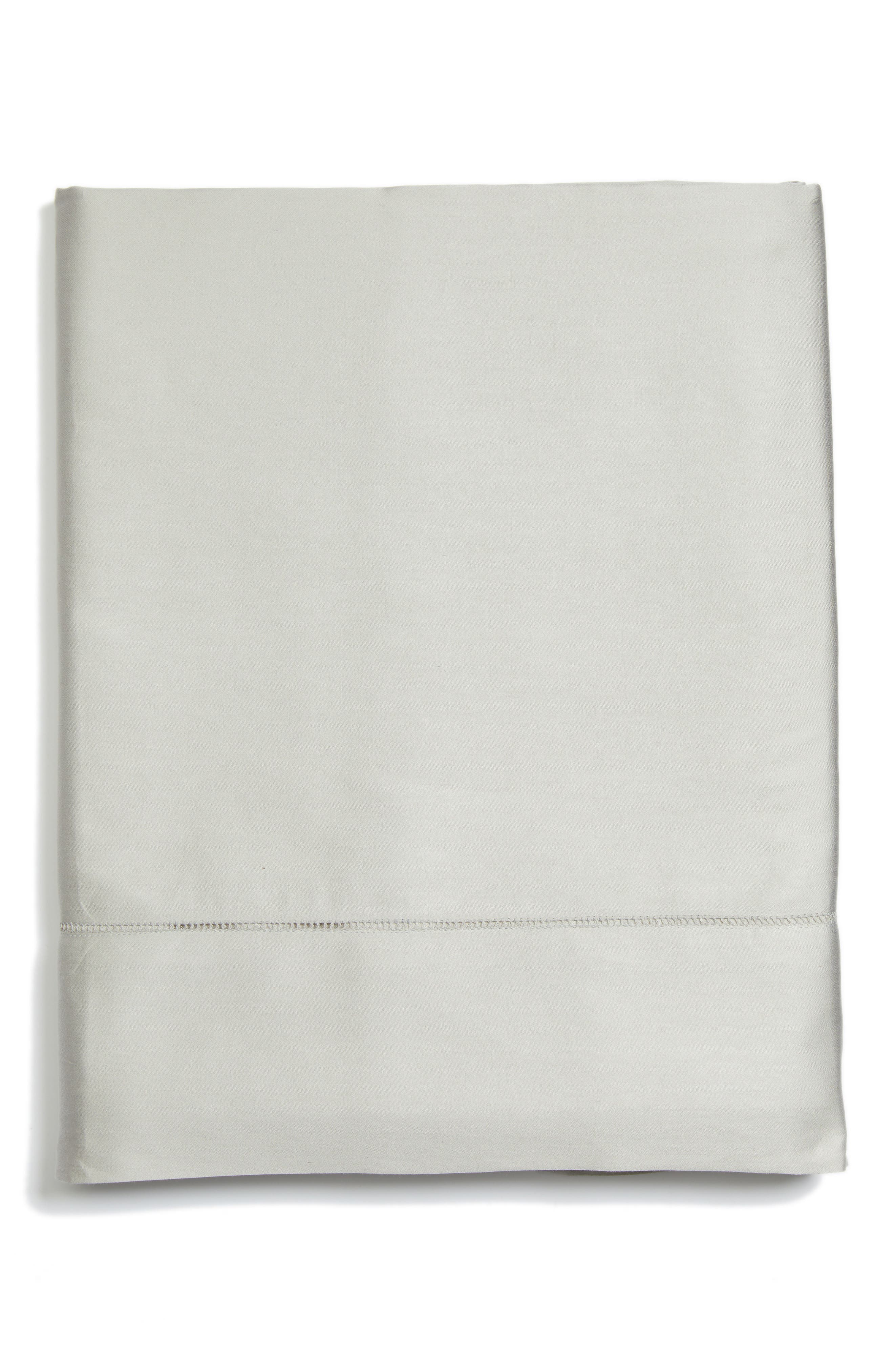 Fiona 300 Thread Count Flat Sheet,                             Main thumbnail 1, color,                             020