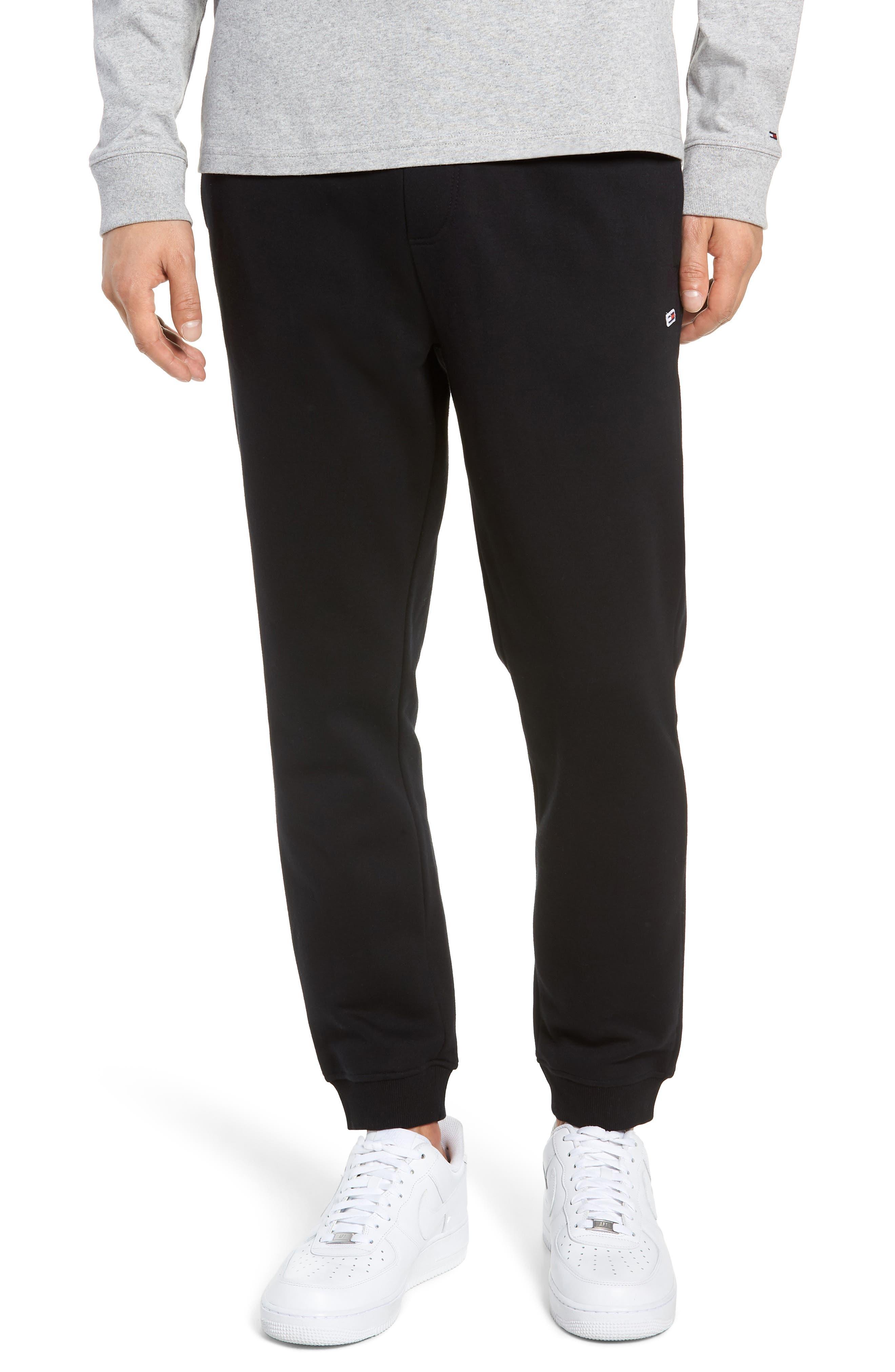 TJM Classics Sweatpants,                             Main thumbnail 1, color,                             TOMMY BLACK