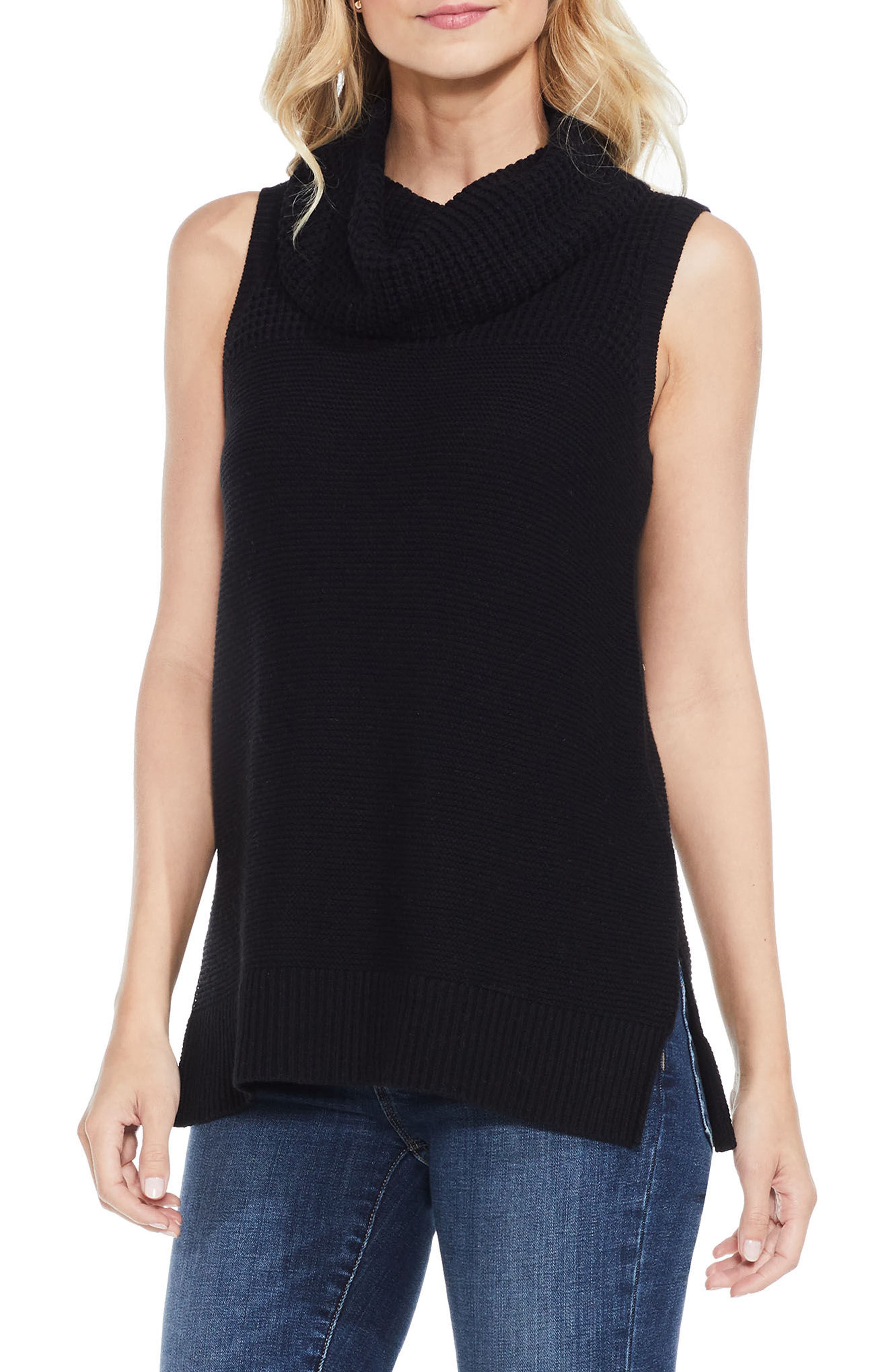 Sleeveless Cowl Neck Sweater,                         Main,                         color, 006