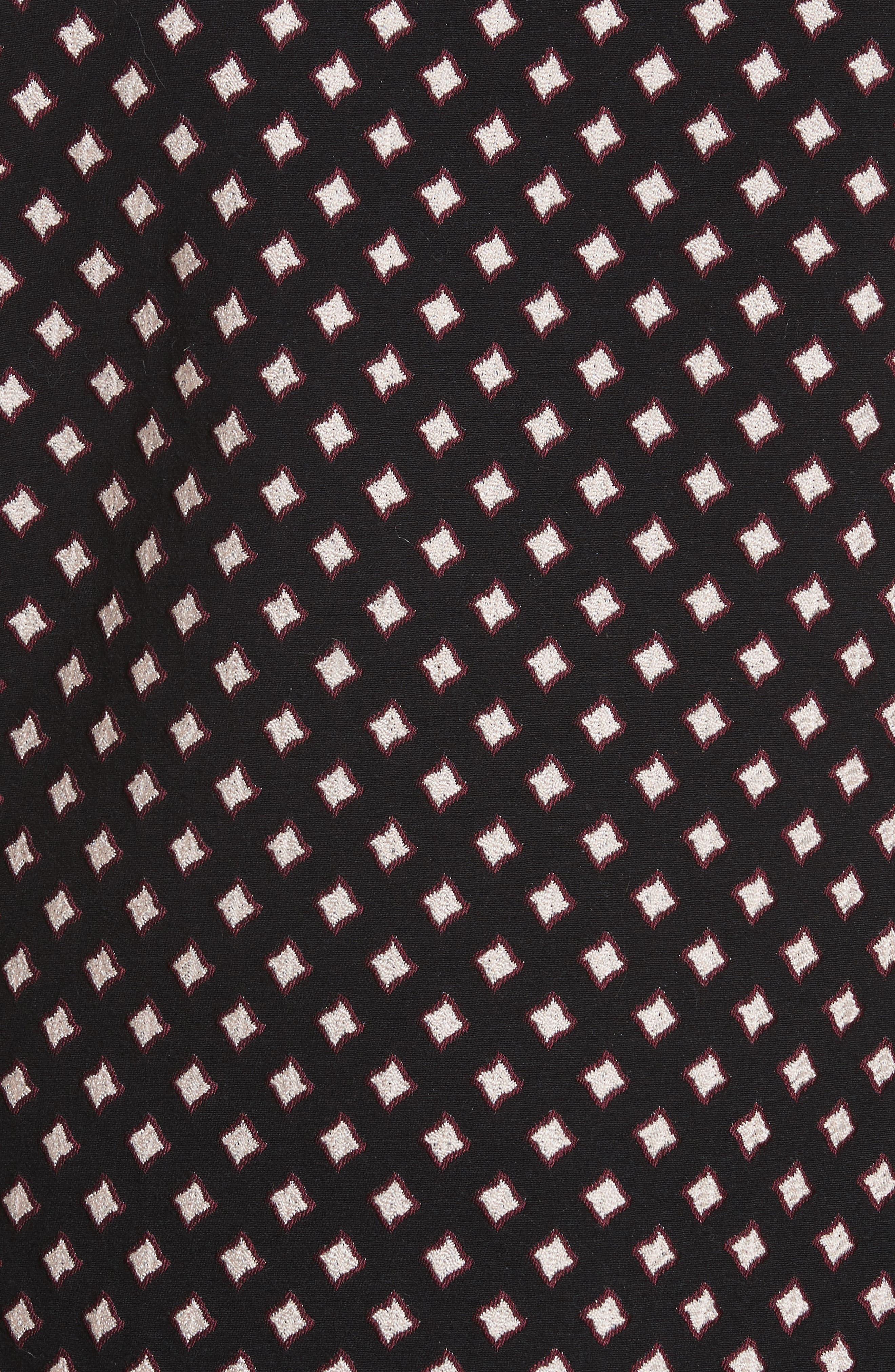diamond jacquard jacket,                             Alternate thumbnail 6, color,