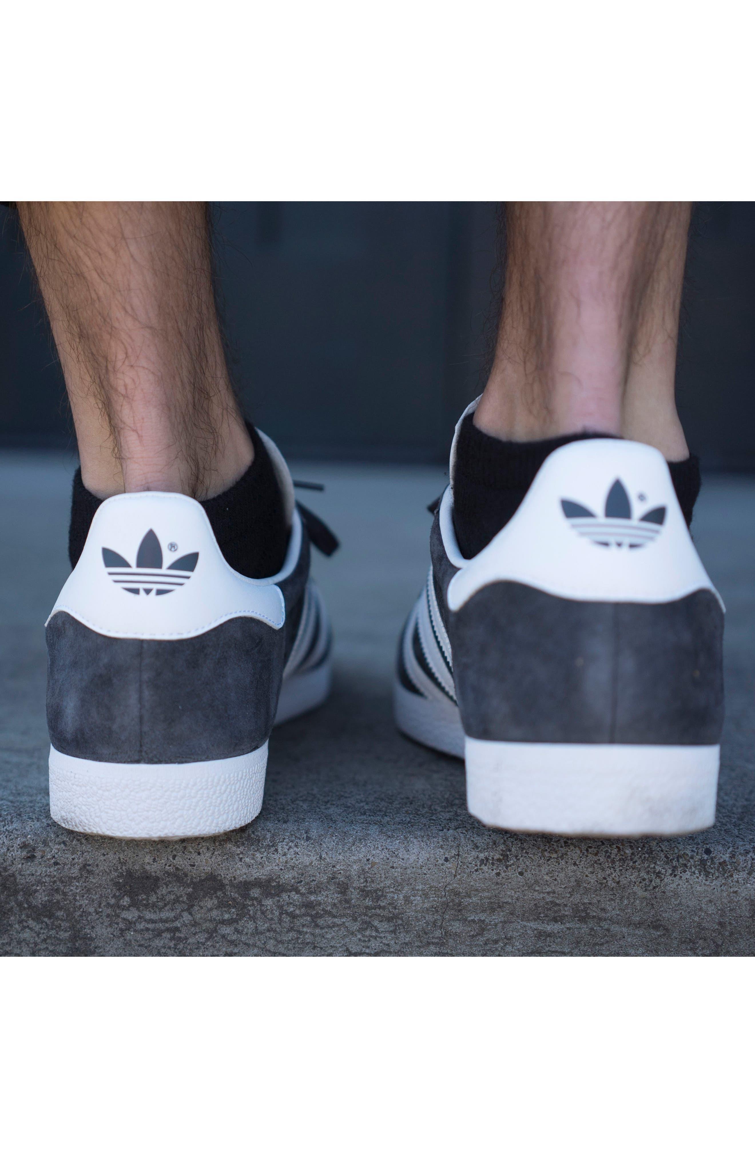 ADIDAS,                             Gazelle Sneaker,                             Alternate thumbnail 8, color,                             020