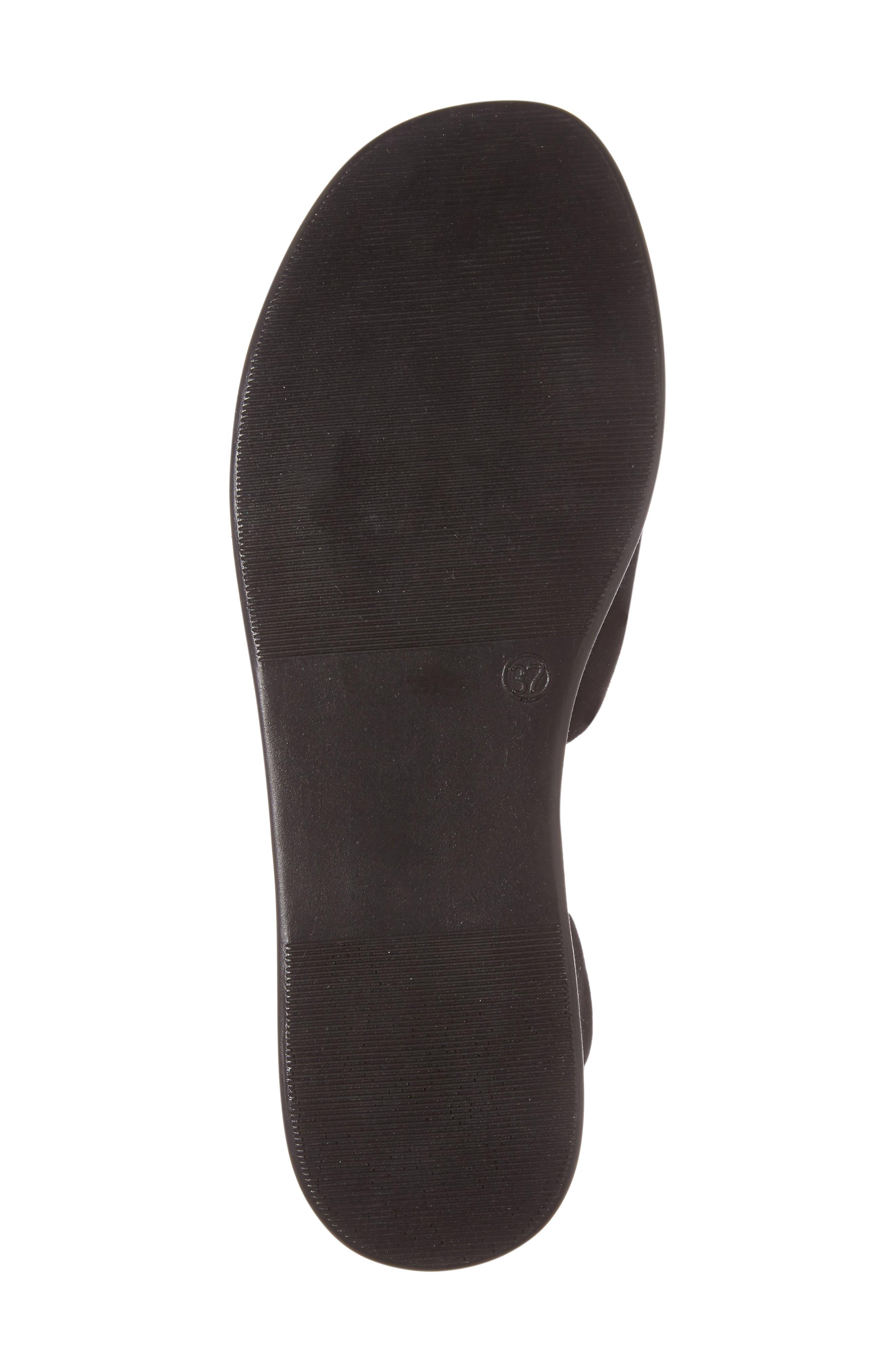 Whisper Platform Sandal,                             Alternate thumbnail 6, color,                             001