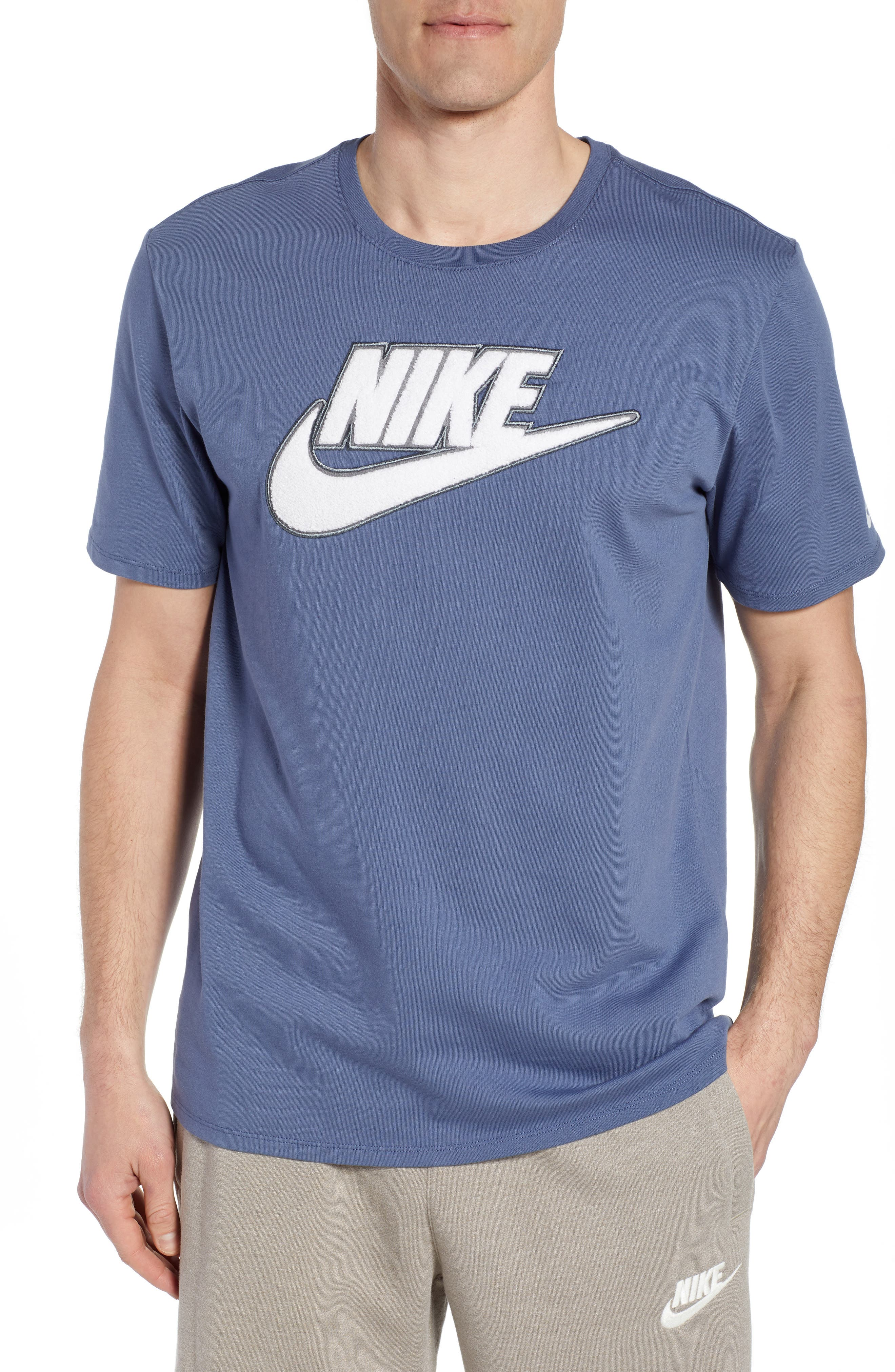 Nike Innovation Logo T-Shirt, Blue