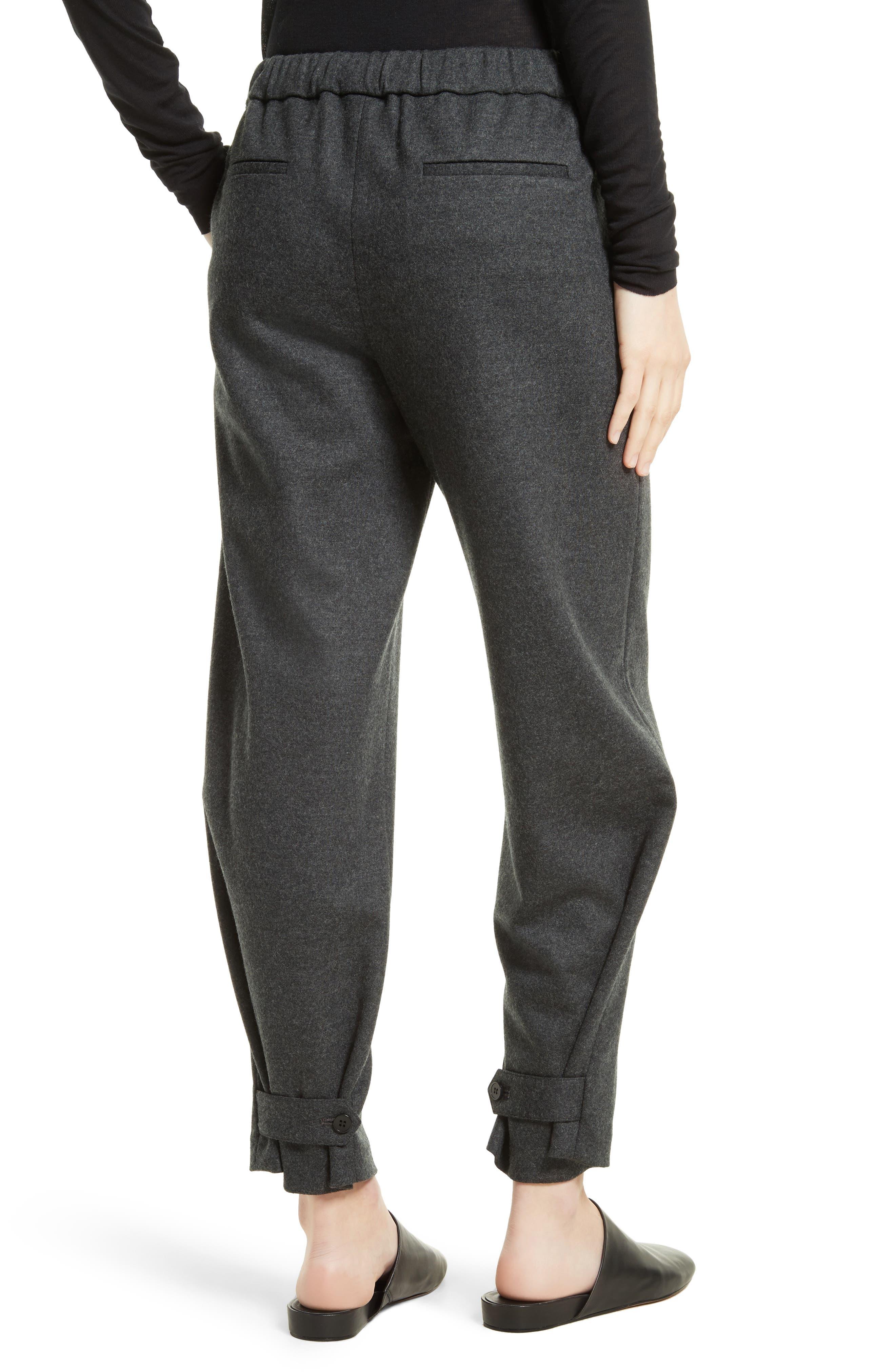 Genie Flannel Knit Pants,                             Alternate thumbnail 4, color,                             029