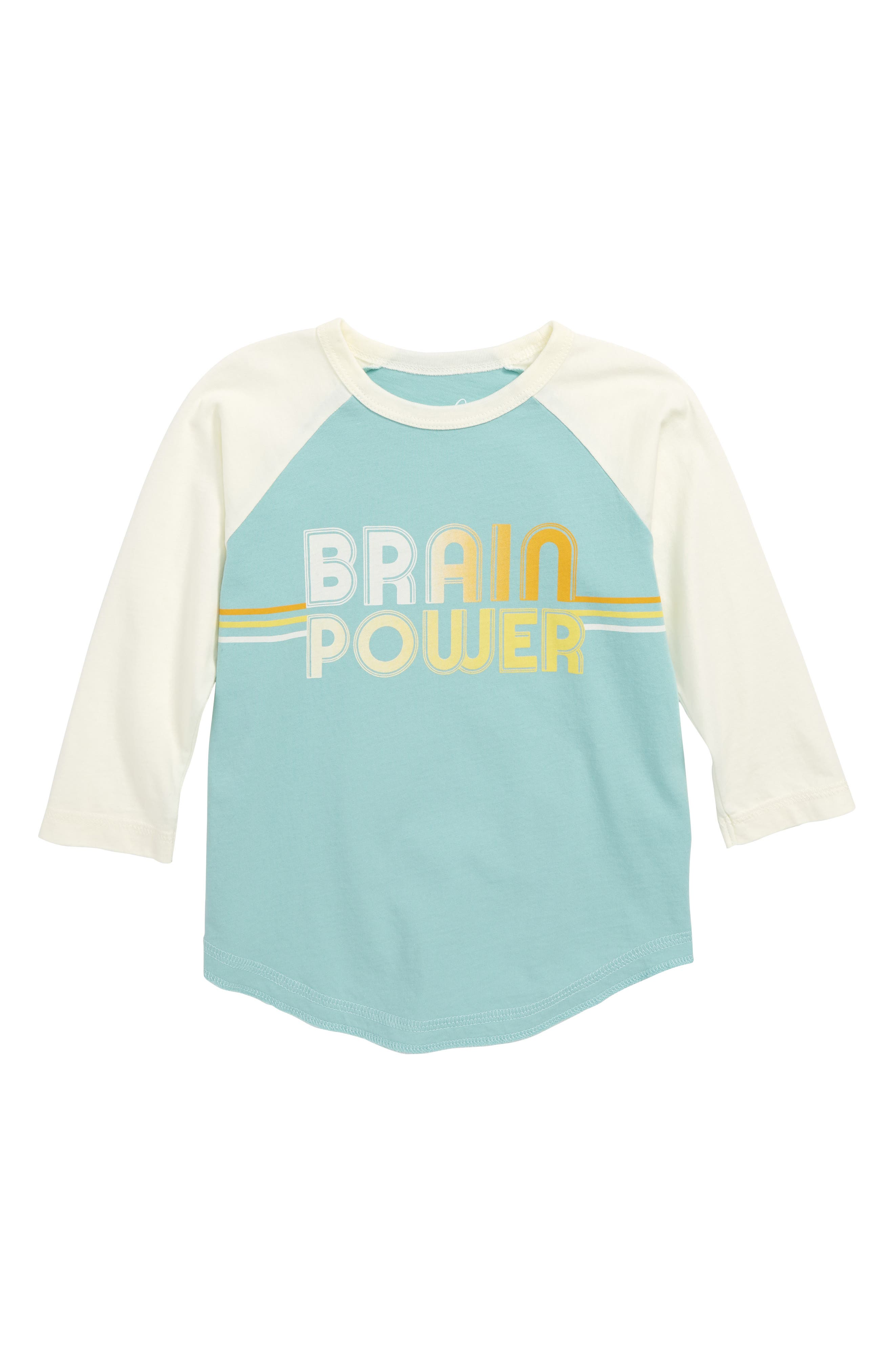 Brain Power Graphic T-Shirt,                             Main thumbnail 1, color,                             TEAL