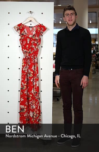 Ruffle Maxi Dress, sales video thumbnail