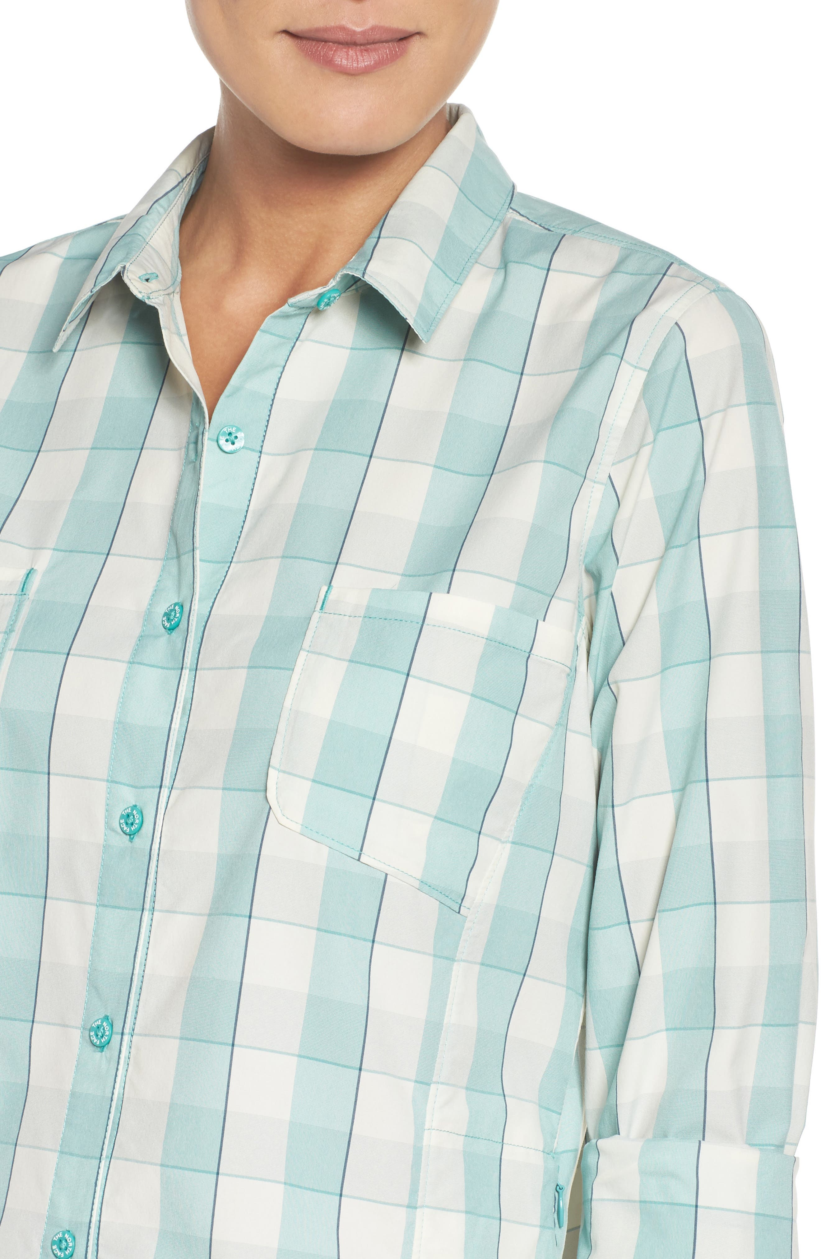 Sunblocker Twill Shirt,                             Alternate thumbnail 4, color,                             310