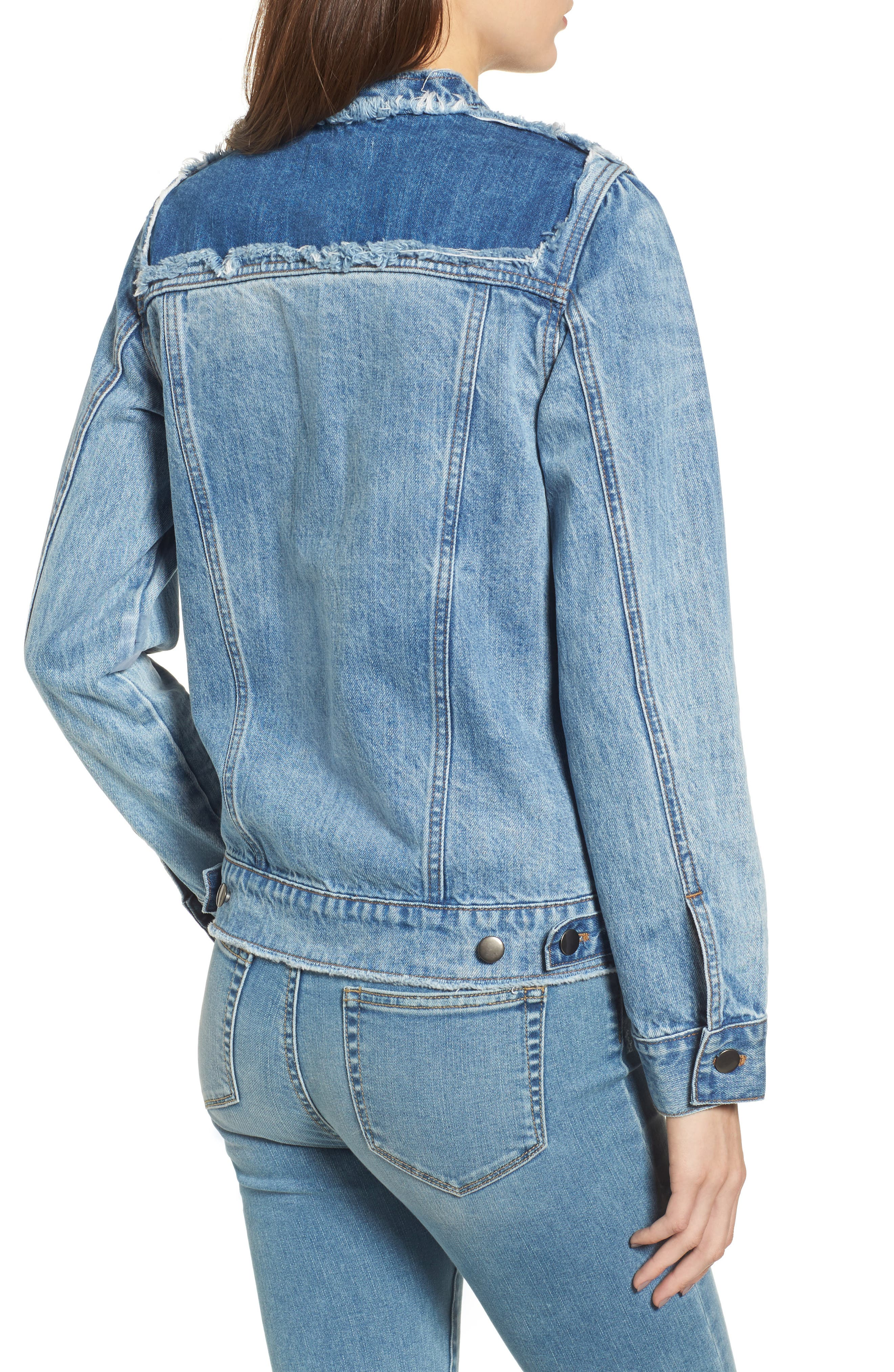 Bastille Jean Jacket,                             Alternate thumbnail 2, color,                             401