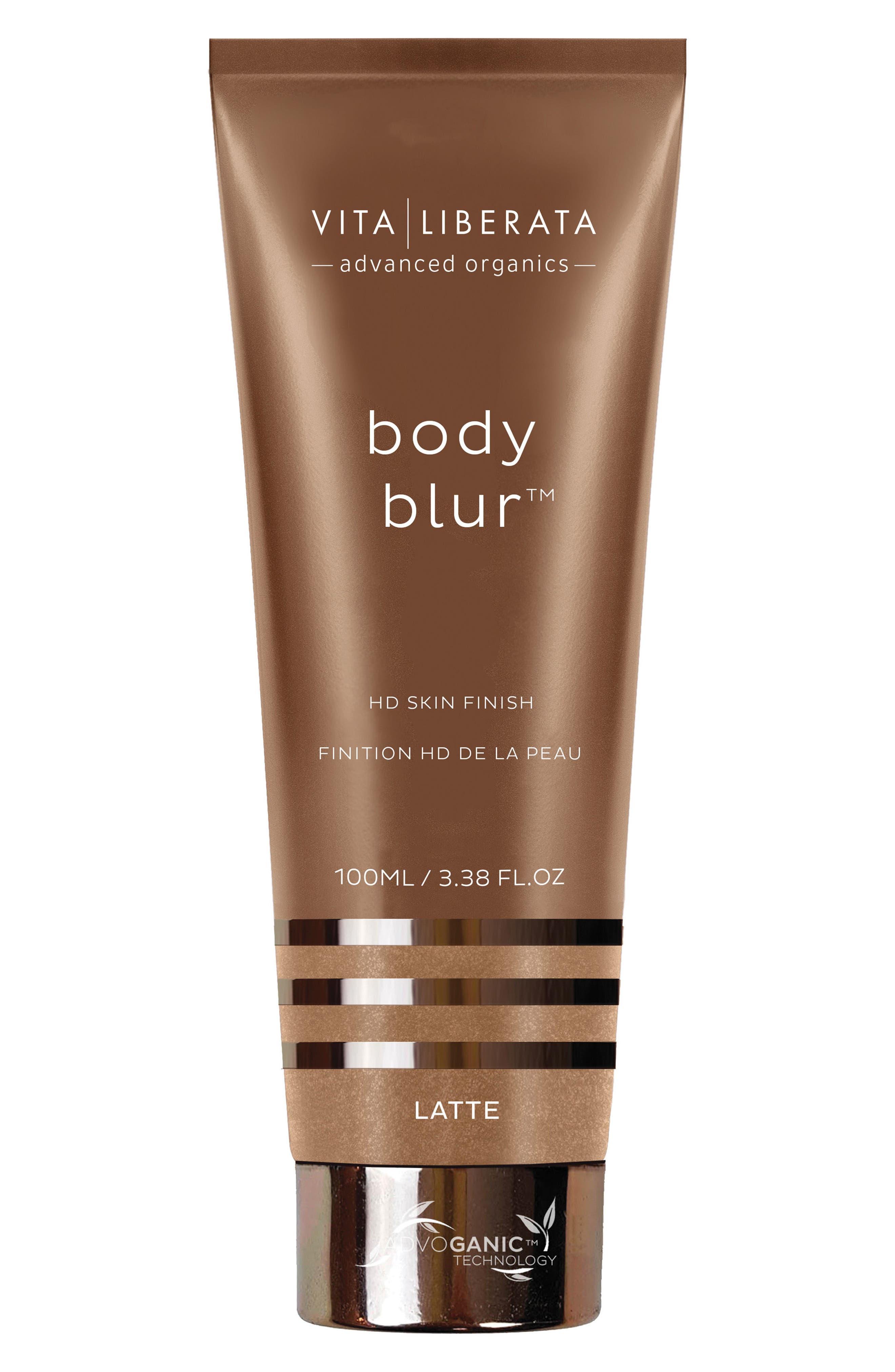 VITA LIBERATA,                             Body Blur Instant HD Skin Finish,                             Main thumbnail 1, color,                             LATTE