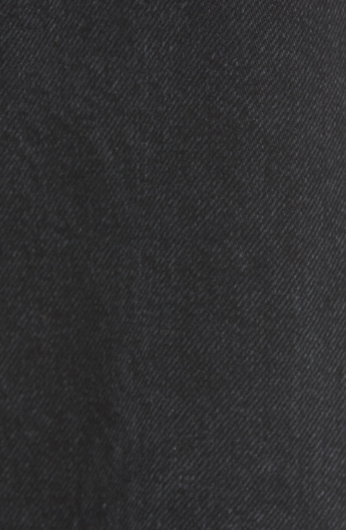 Hepburn High Waist Wide Leg Jeans,                             Alternate thumbnail 5, color,                             020
