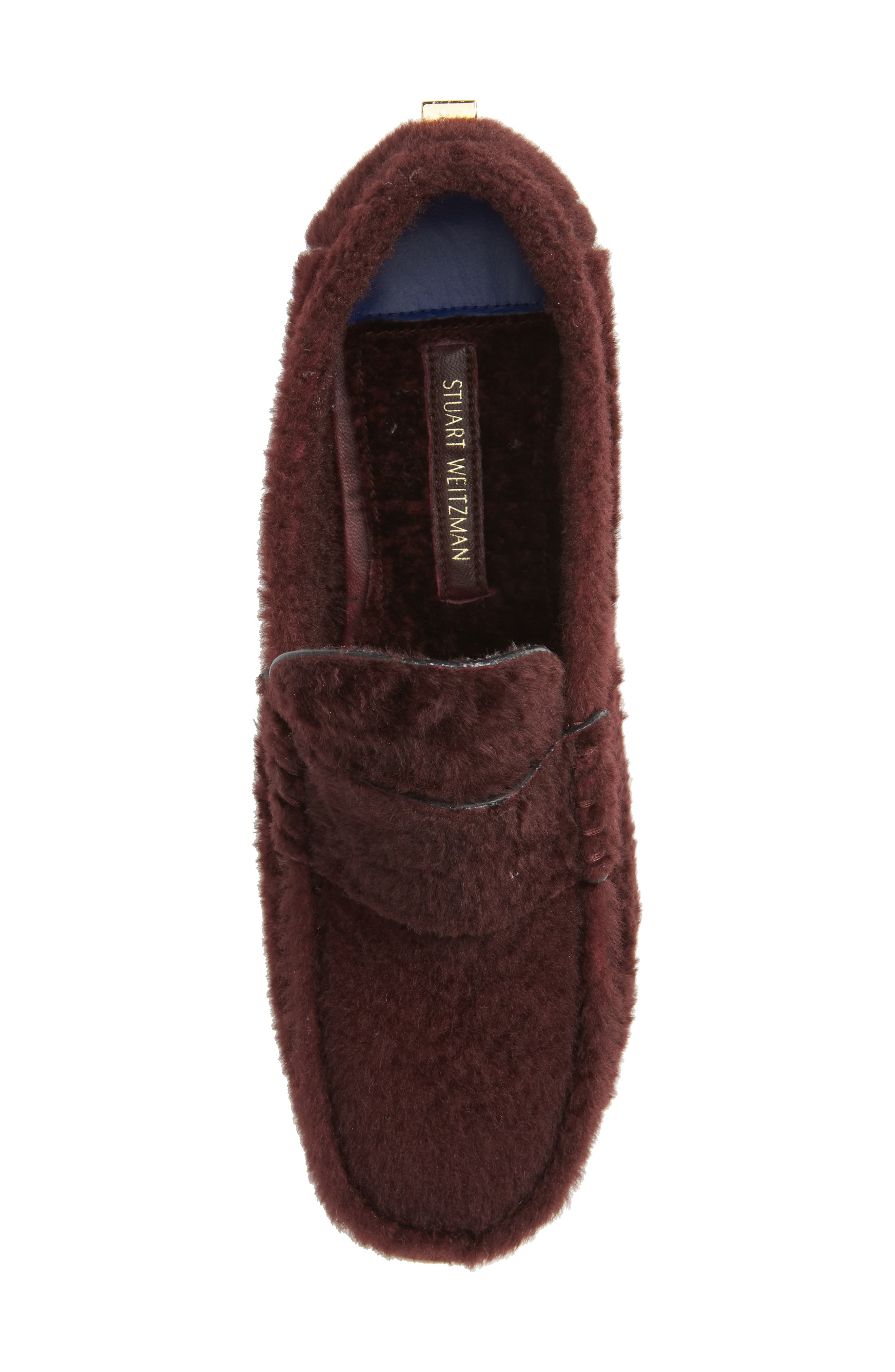 Bromley Genuine Shearling Loafer,                             Alternate thumbnail 15, color,