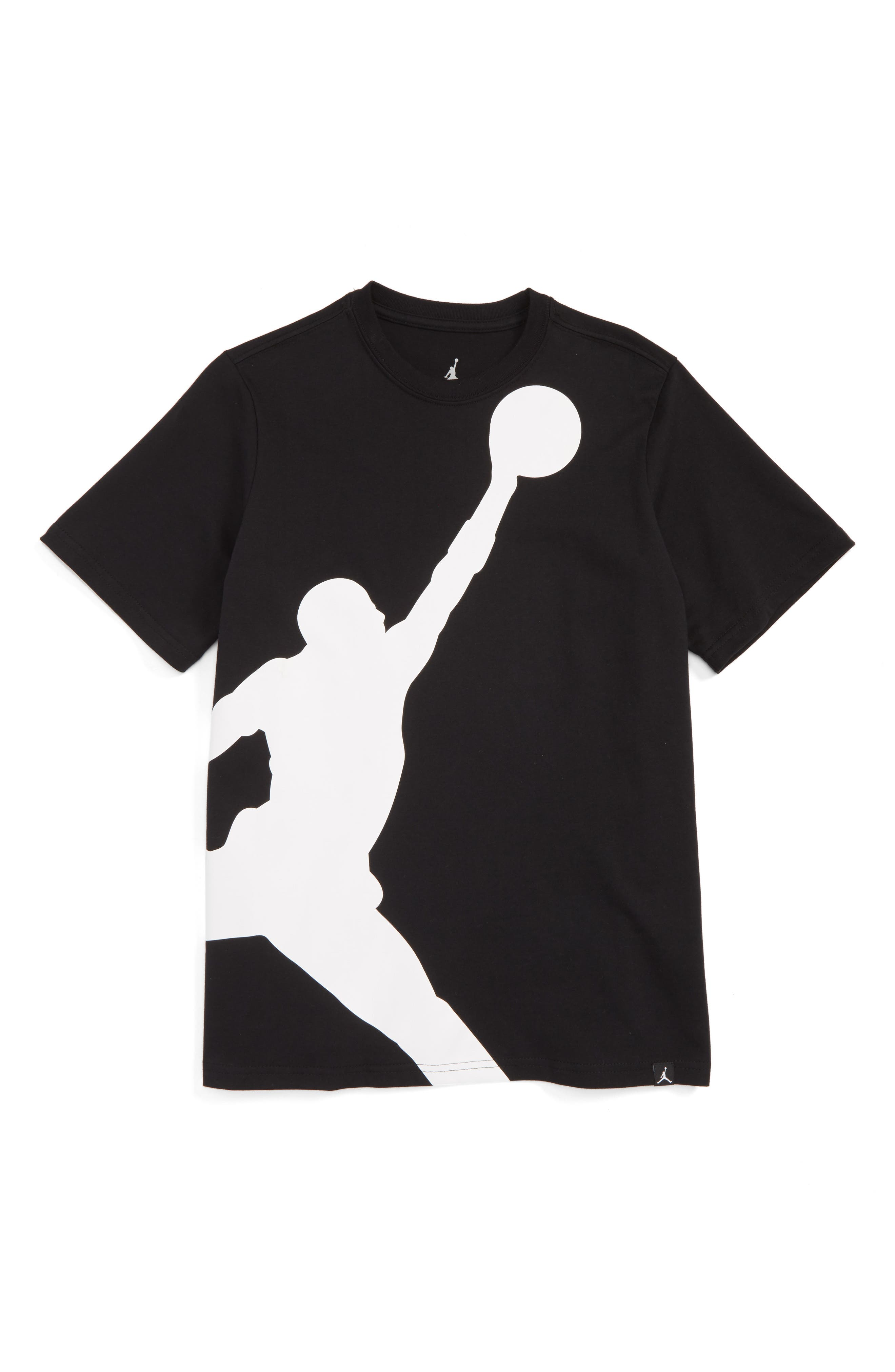 Jordan Jumbo Jumpman T-Shirt,                             Main thumbnail 2, color,