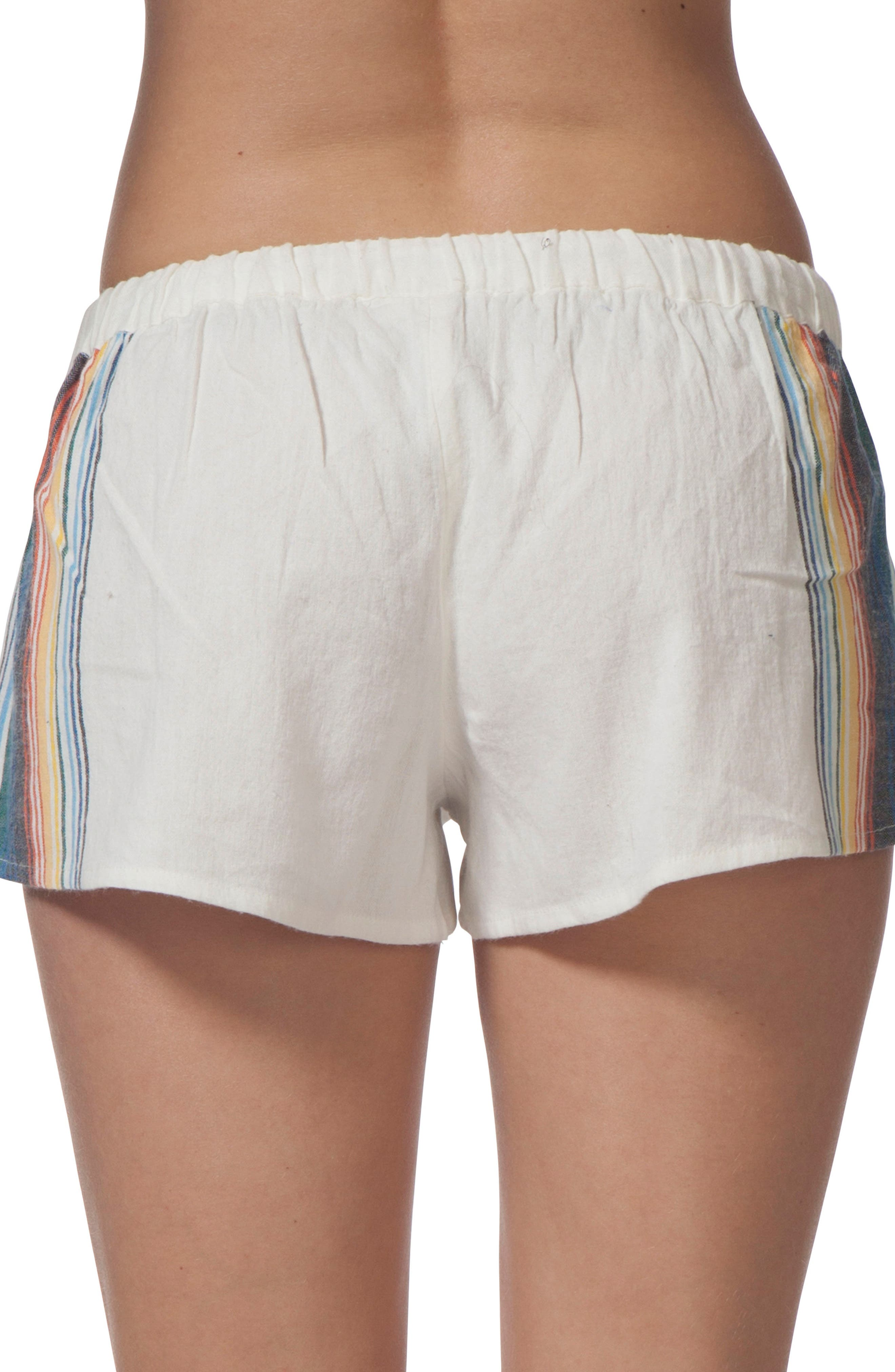 Beach Bazaar Cotton Shorts,                             Alternate thumbnail 2, color,                             111