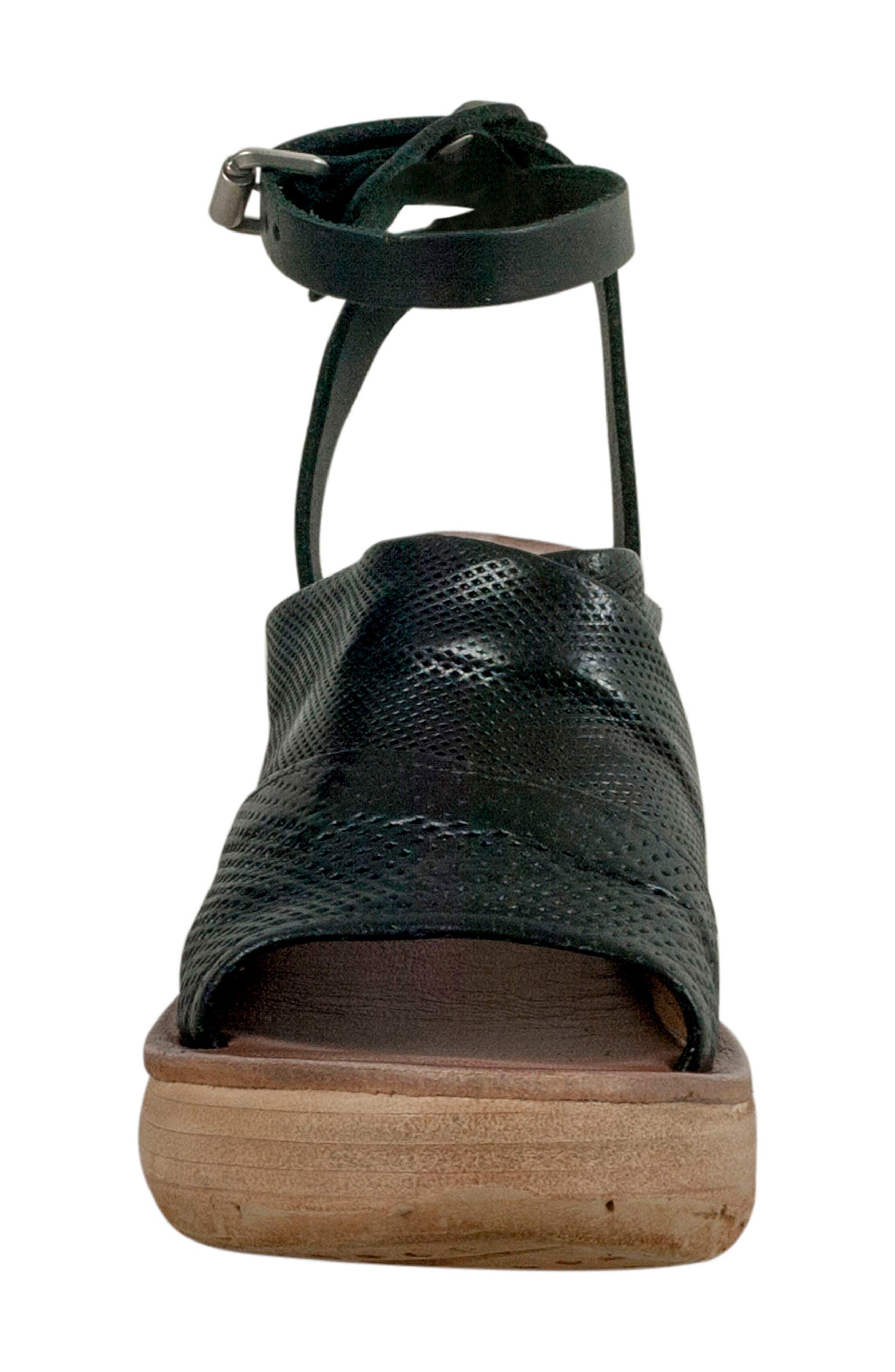 Niall Platform Wedge Sandal,                             Alternate thumbnail 7, color,