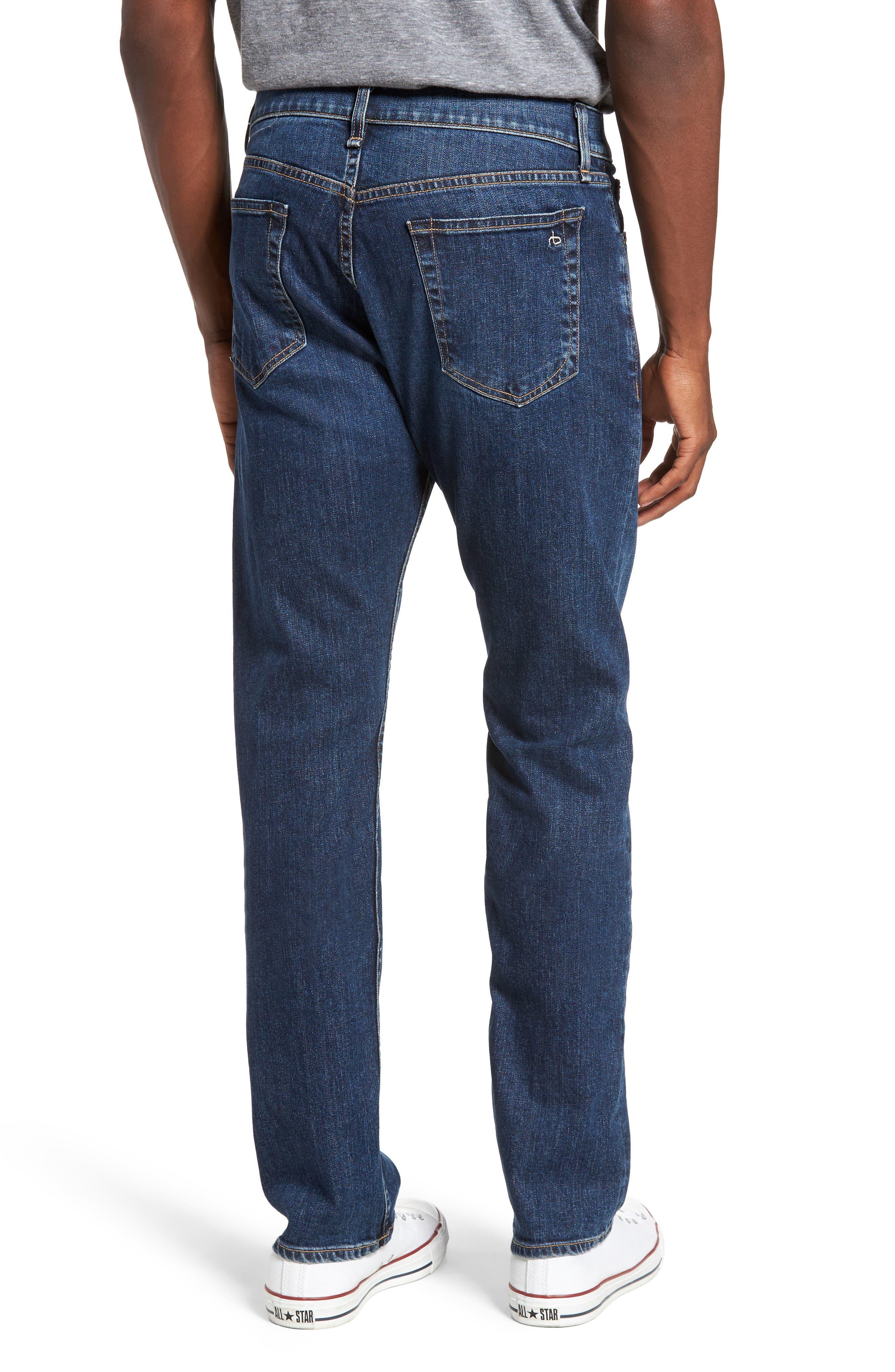 Fit 3 Slim Straight Leg Jeans,                             Alternate thumbnail 2, color,                             423