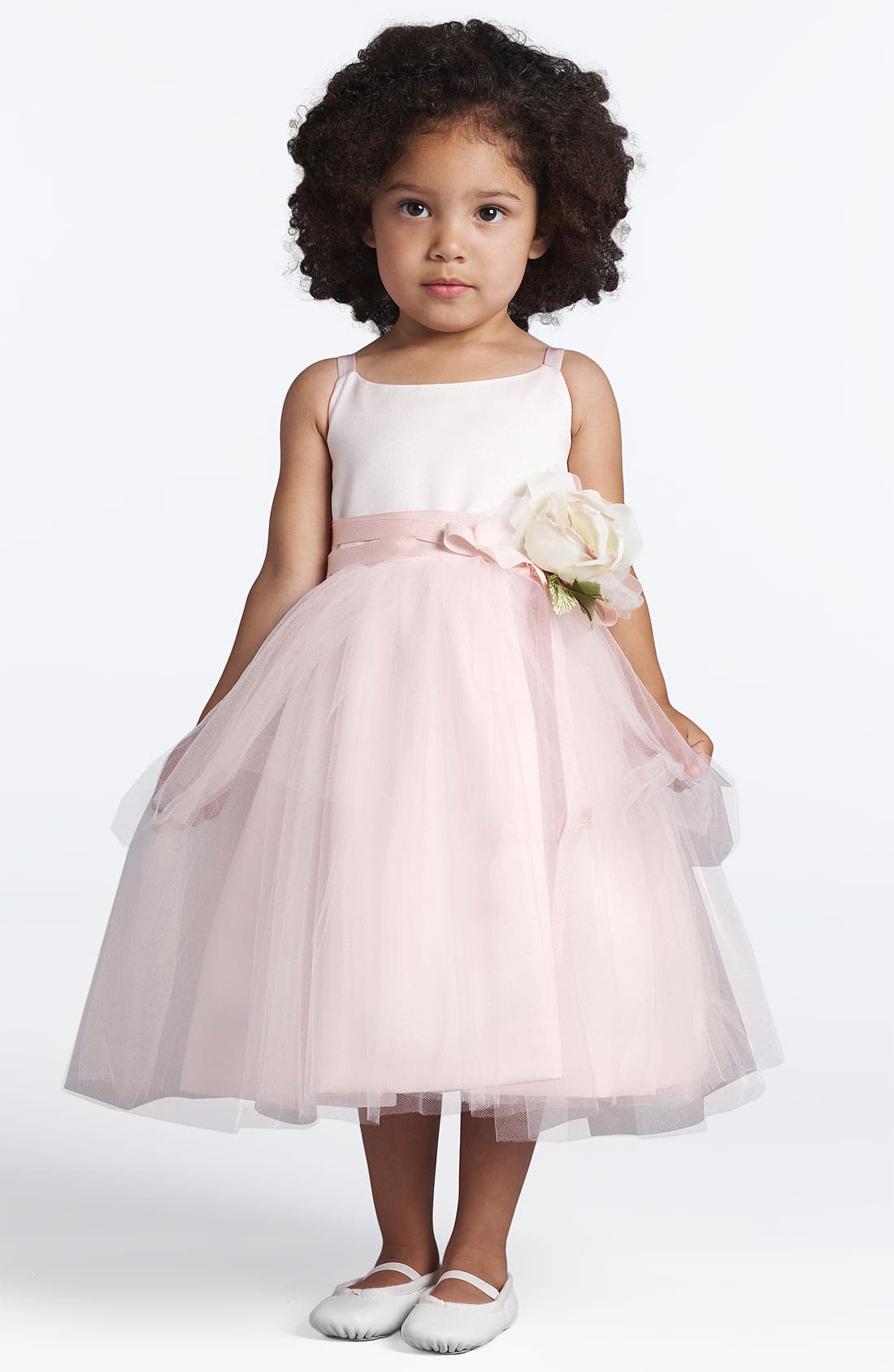 US ANGELS,                             Tulle Ballerina Dress,                             Alternate thumbnail 2, color,                             BLUSH PINK