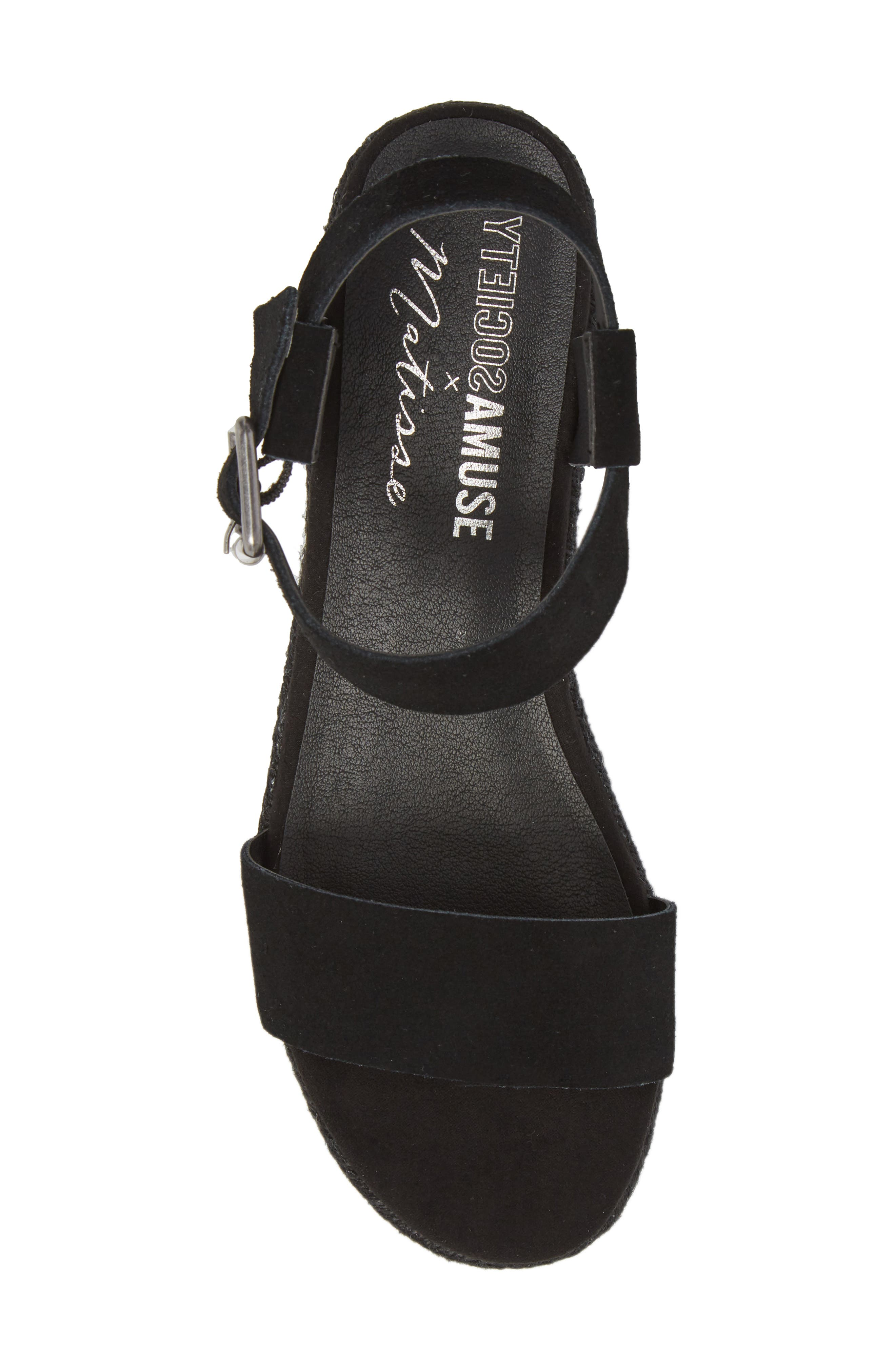 Amuse Society x Matisse Siena Wedge Sandal,                             Alternate thumbnail 5, color,                             017