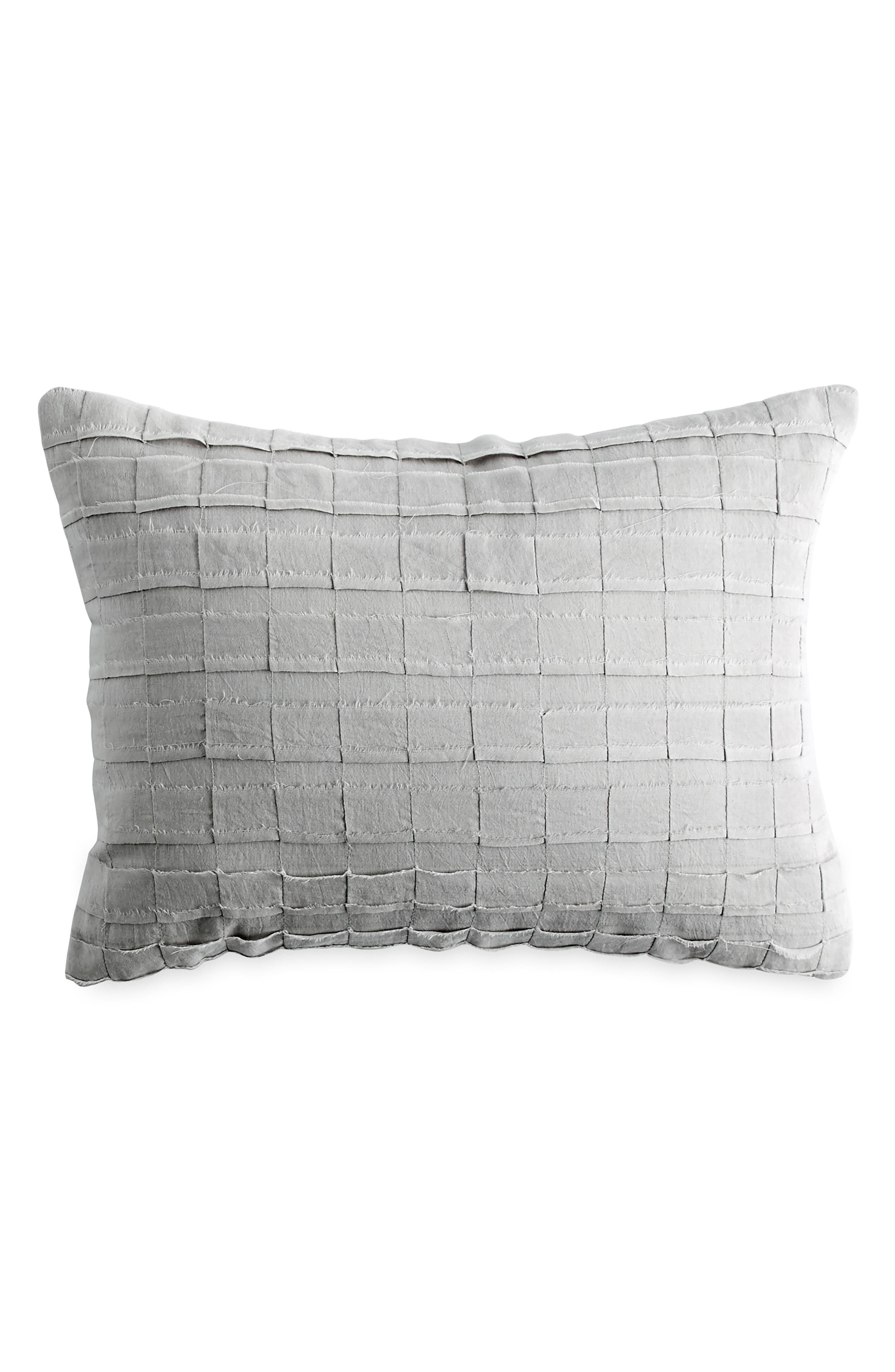 Accent Pillow,                         Main,                         color, PLATINUM