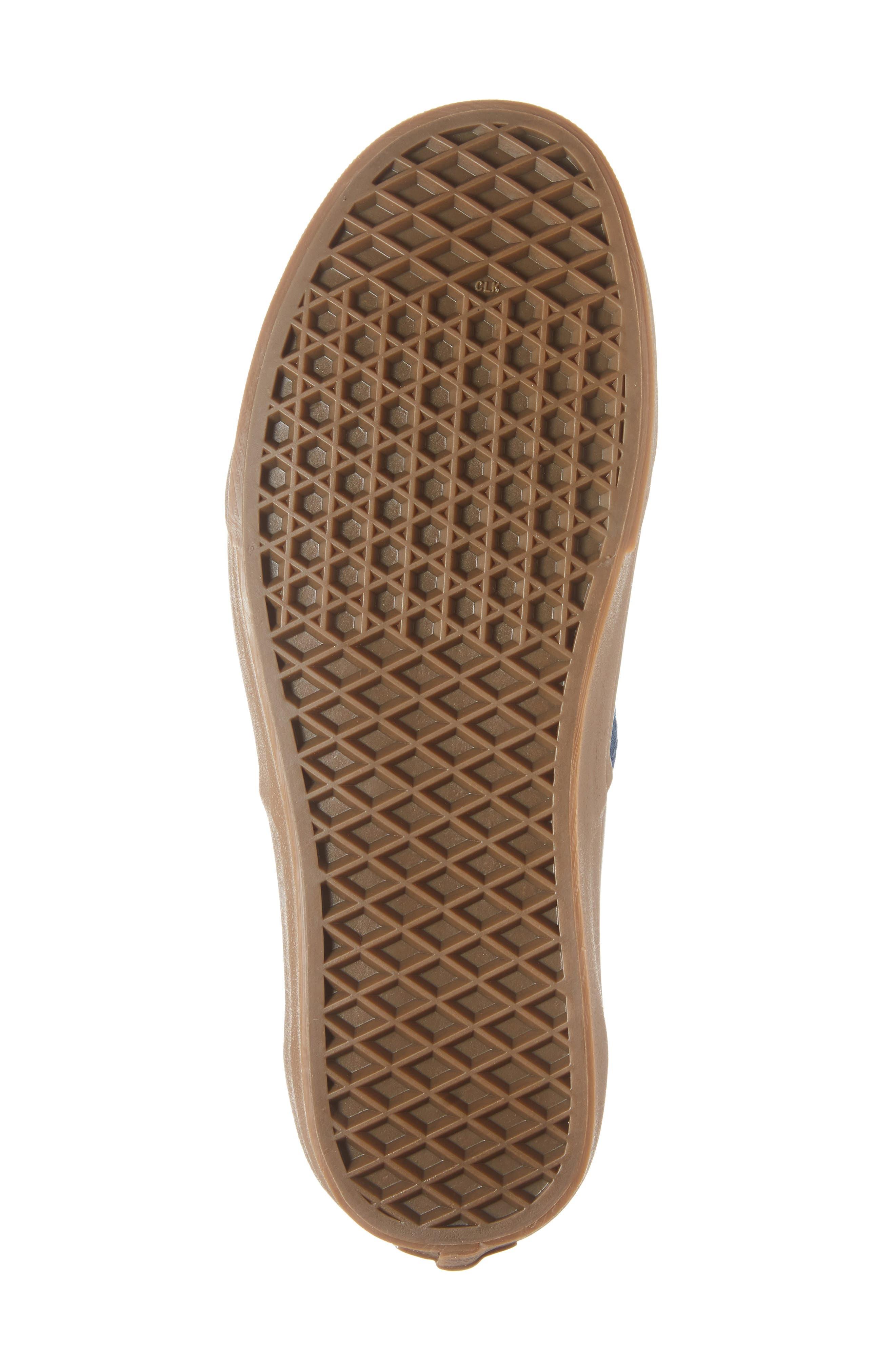 VANS,                             Authentic Gum Outsole Sneaker,                             Alternate thumbnail 6, color,                             401