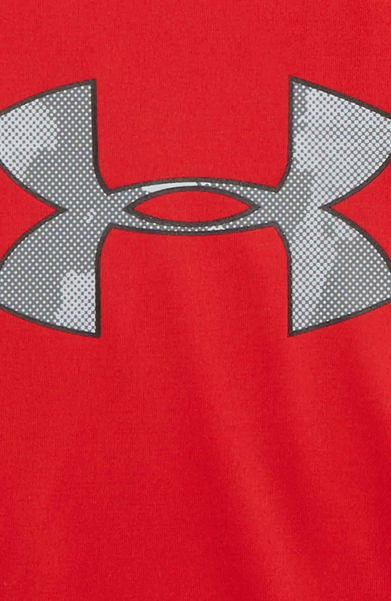 UNDER ARMOUR,                             Traverse Camo Logo T-Shirt,                             Alternate thumbnail 2, color,                             600